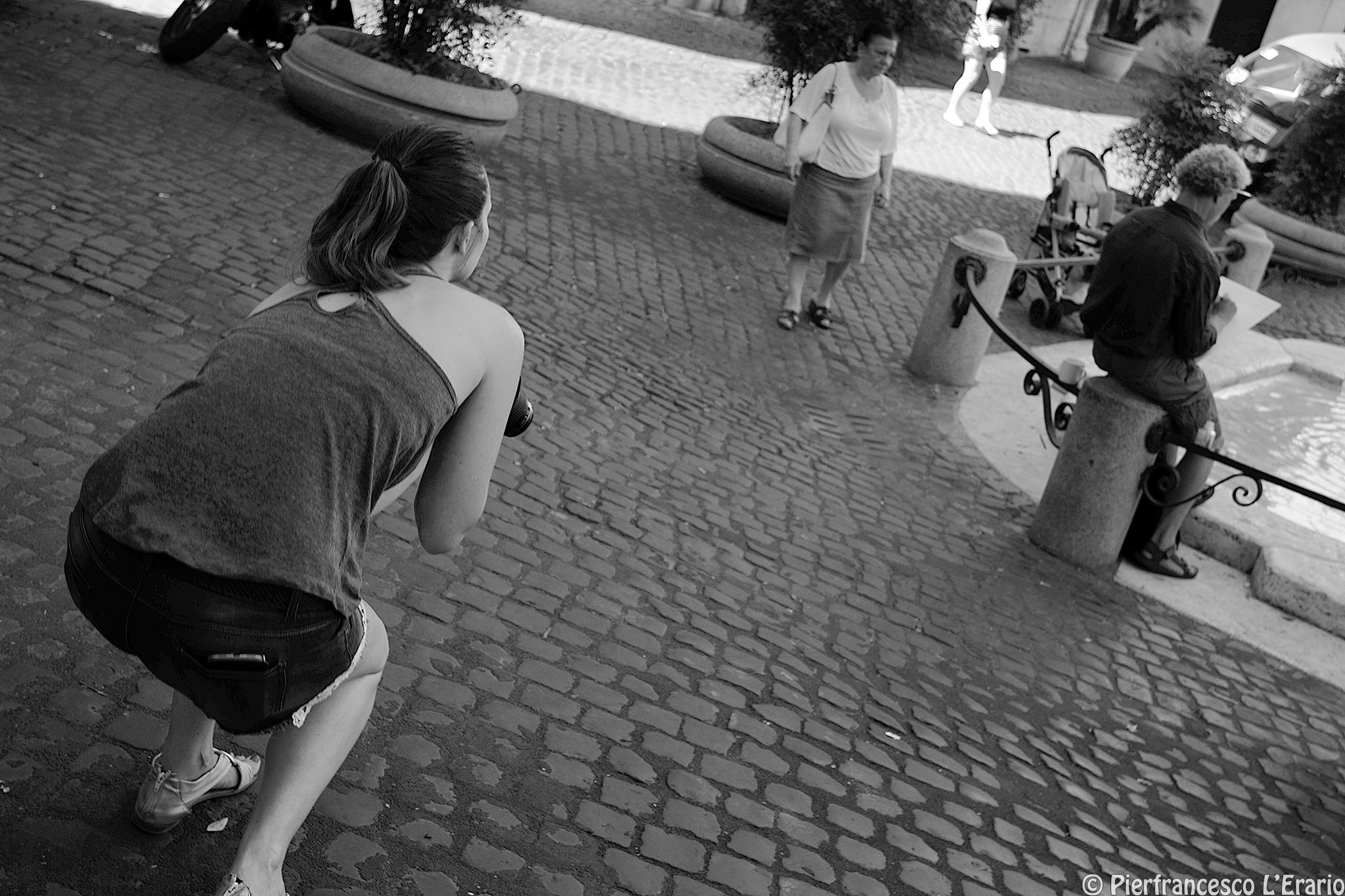 street action...