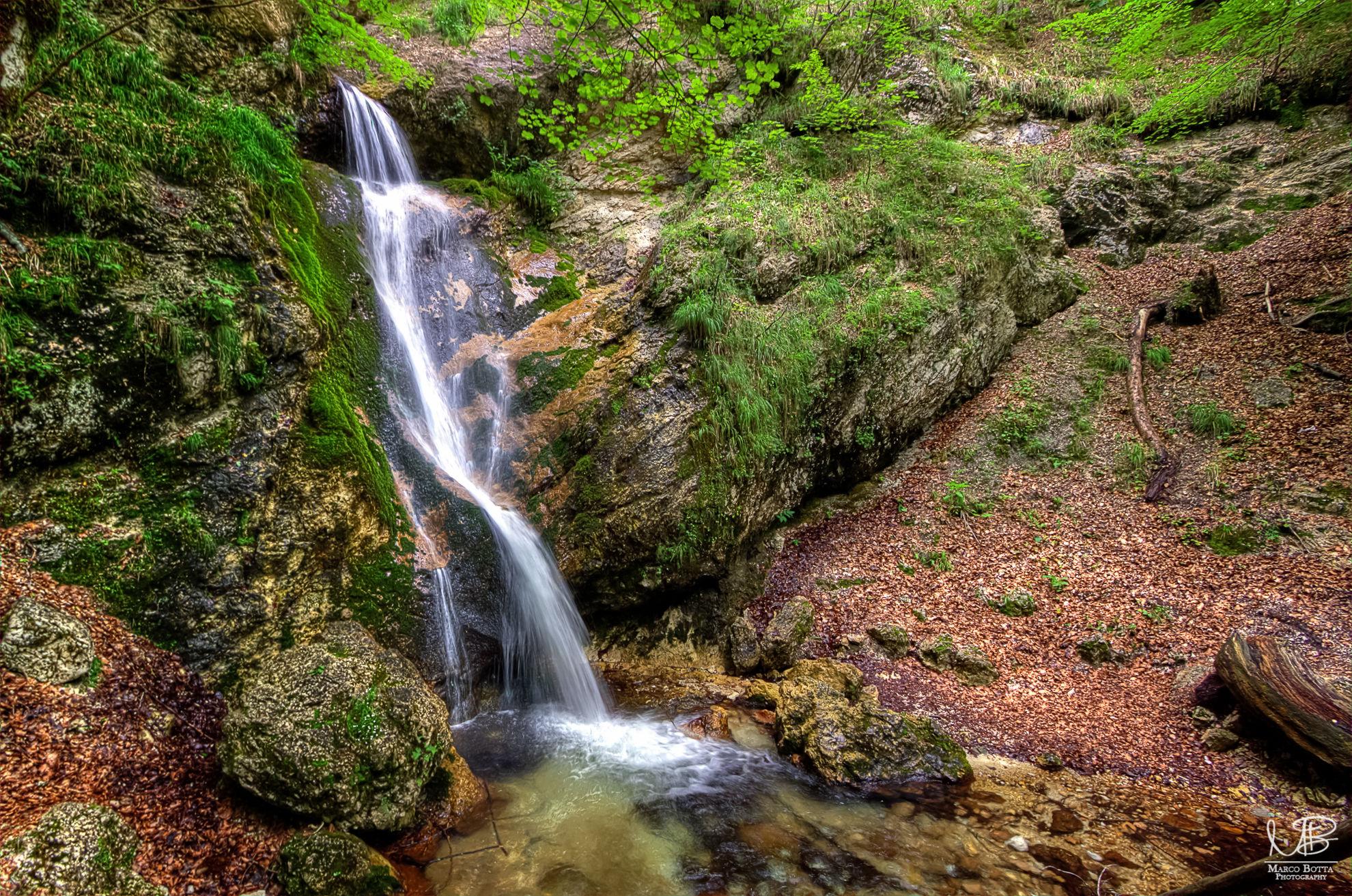 Hidden waterfall...