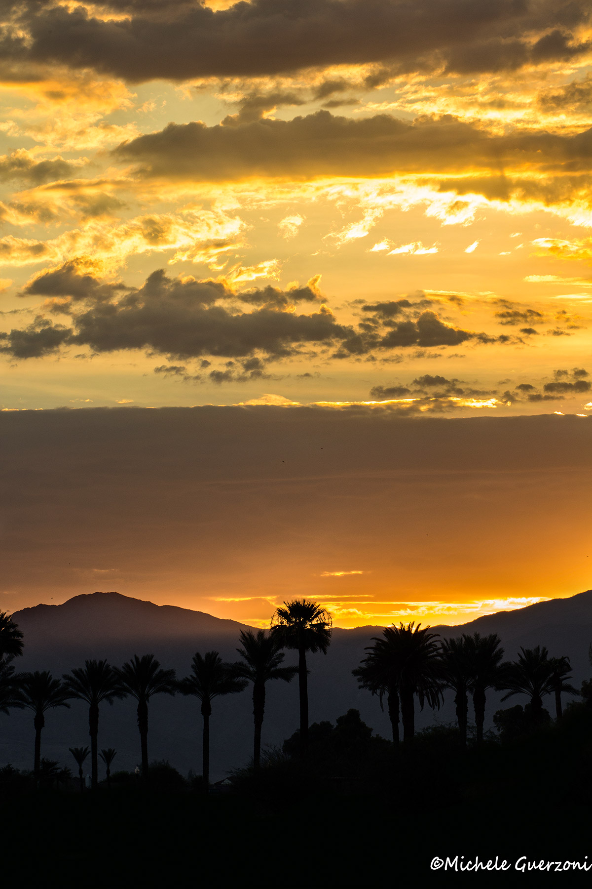 Sunset over Phoenix...