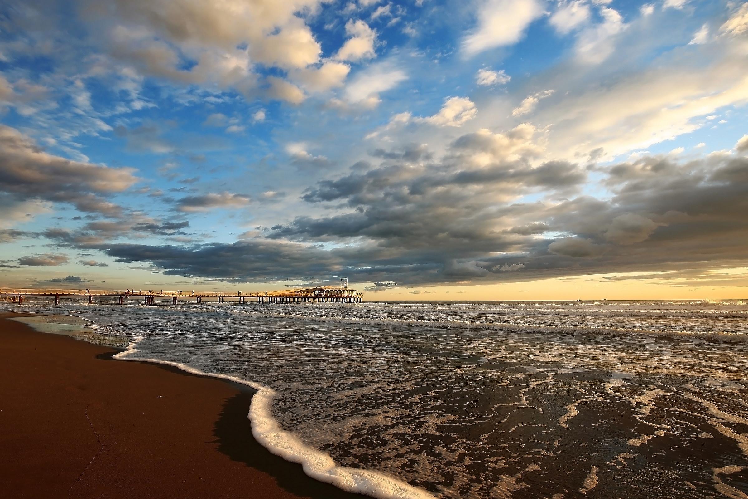 A walk along the beach...