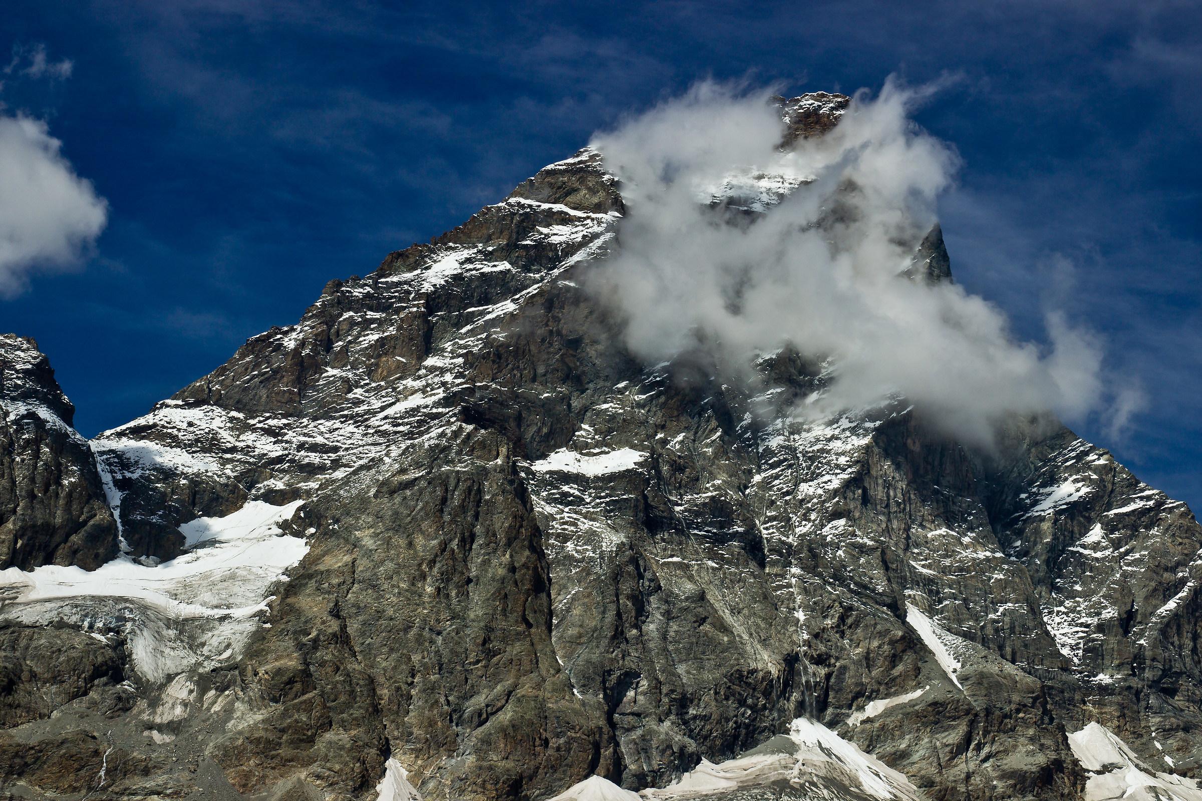 Matterhorn in the clouds...