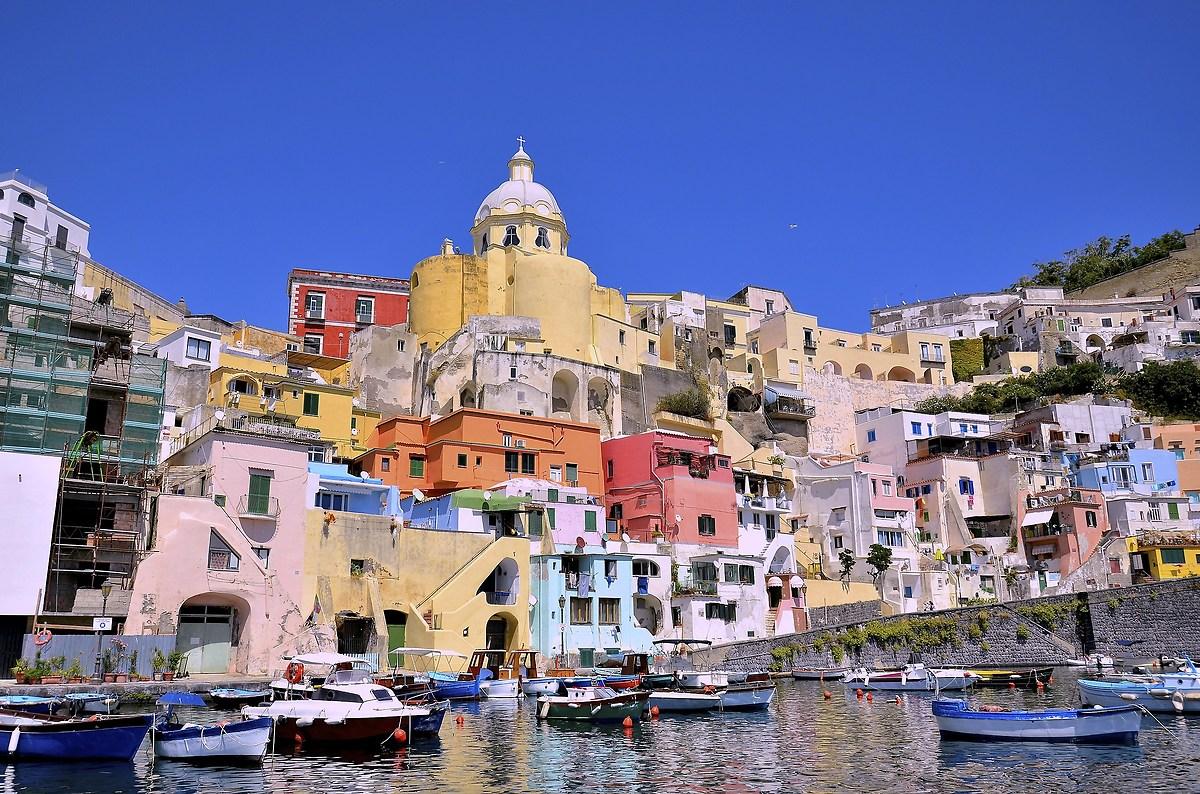 "The corricella ""Procida Island""..."