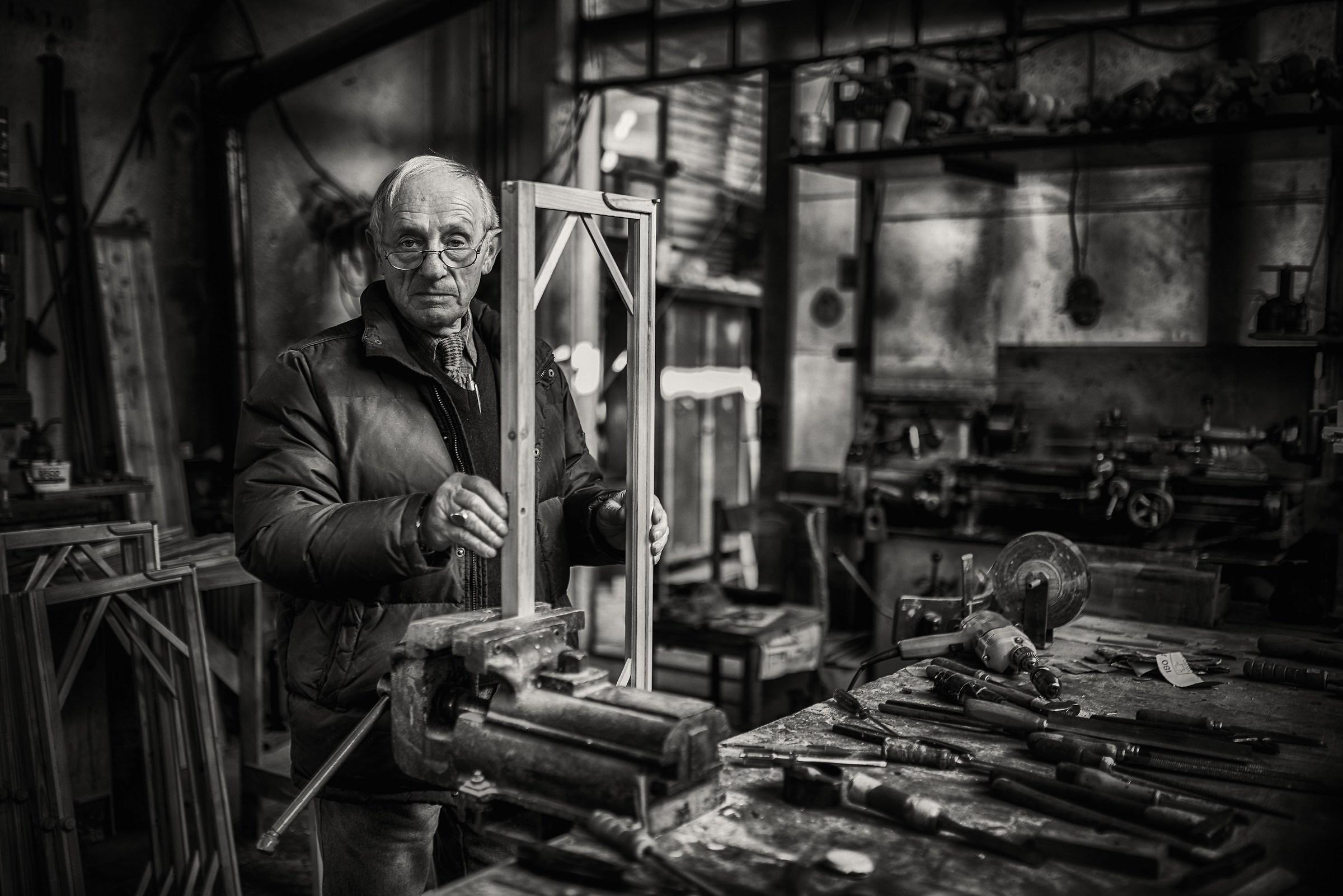 Ishmael the carpenter...