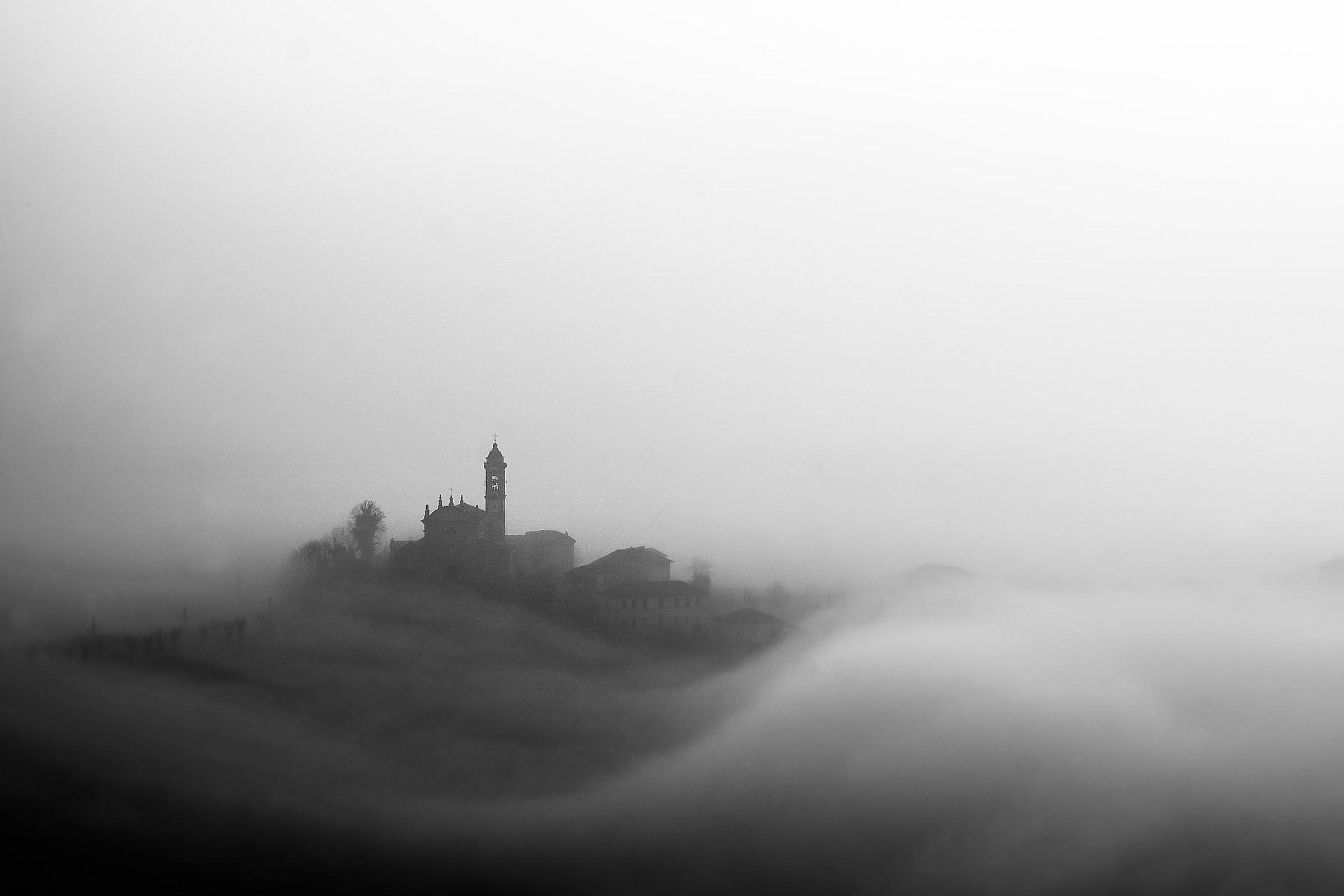Sea of ??fog...