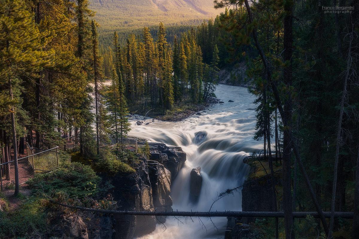 Sunwapta Falls...