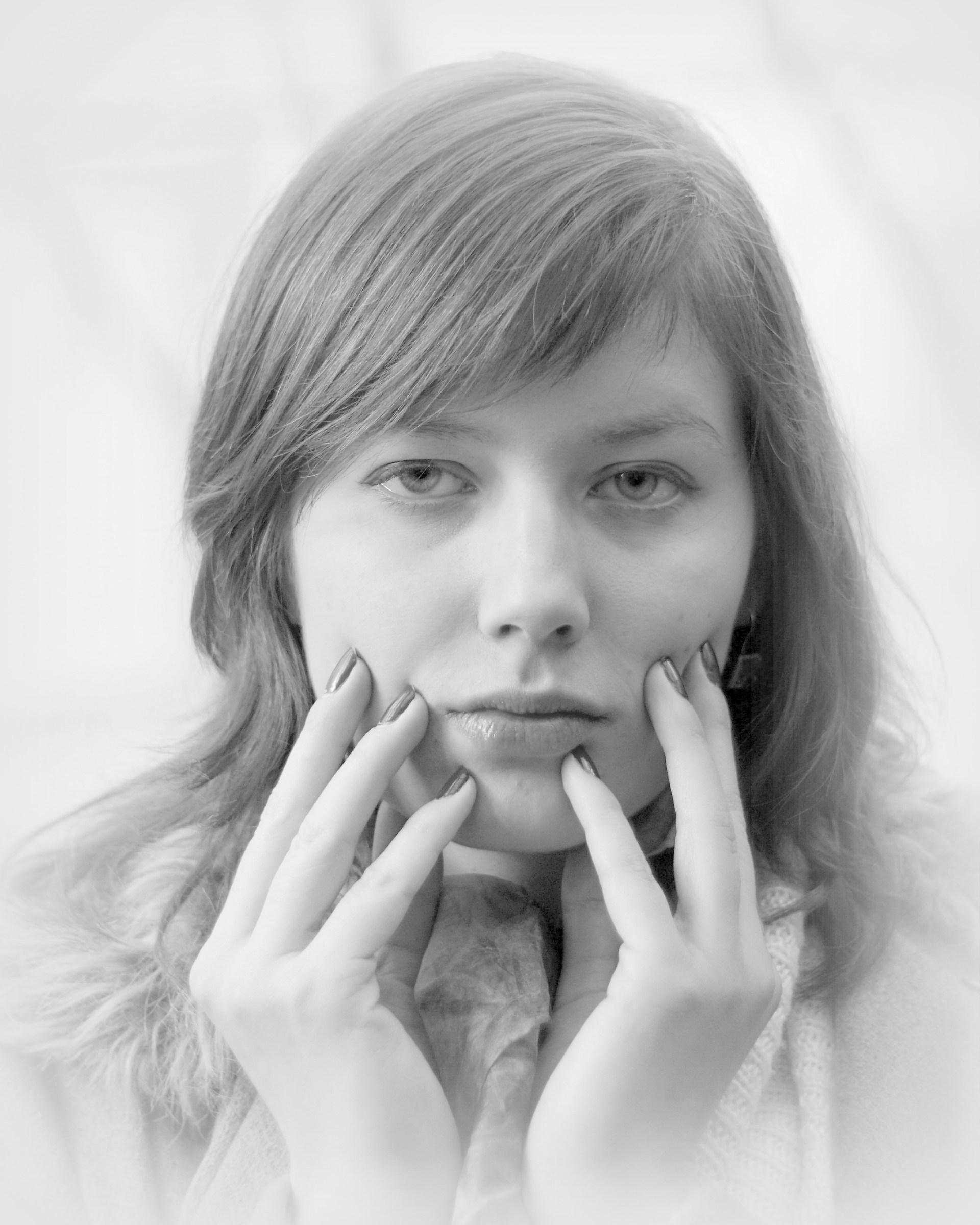 Portrait of miss Kate G....