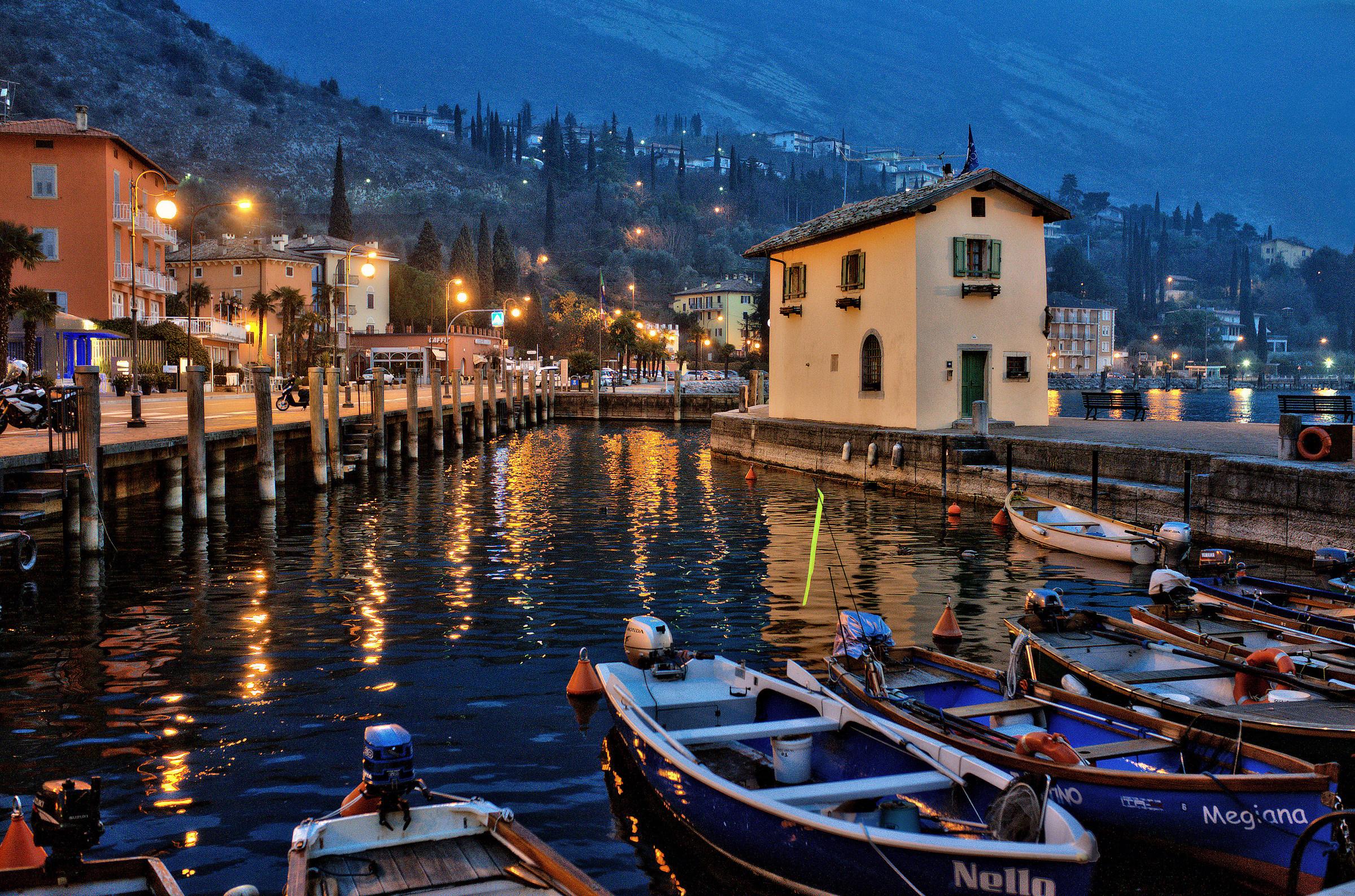 lights on porticciuolo...