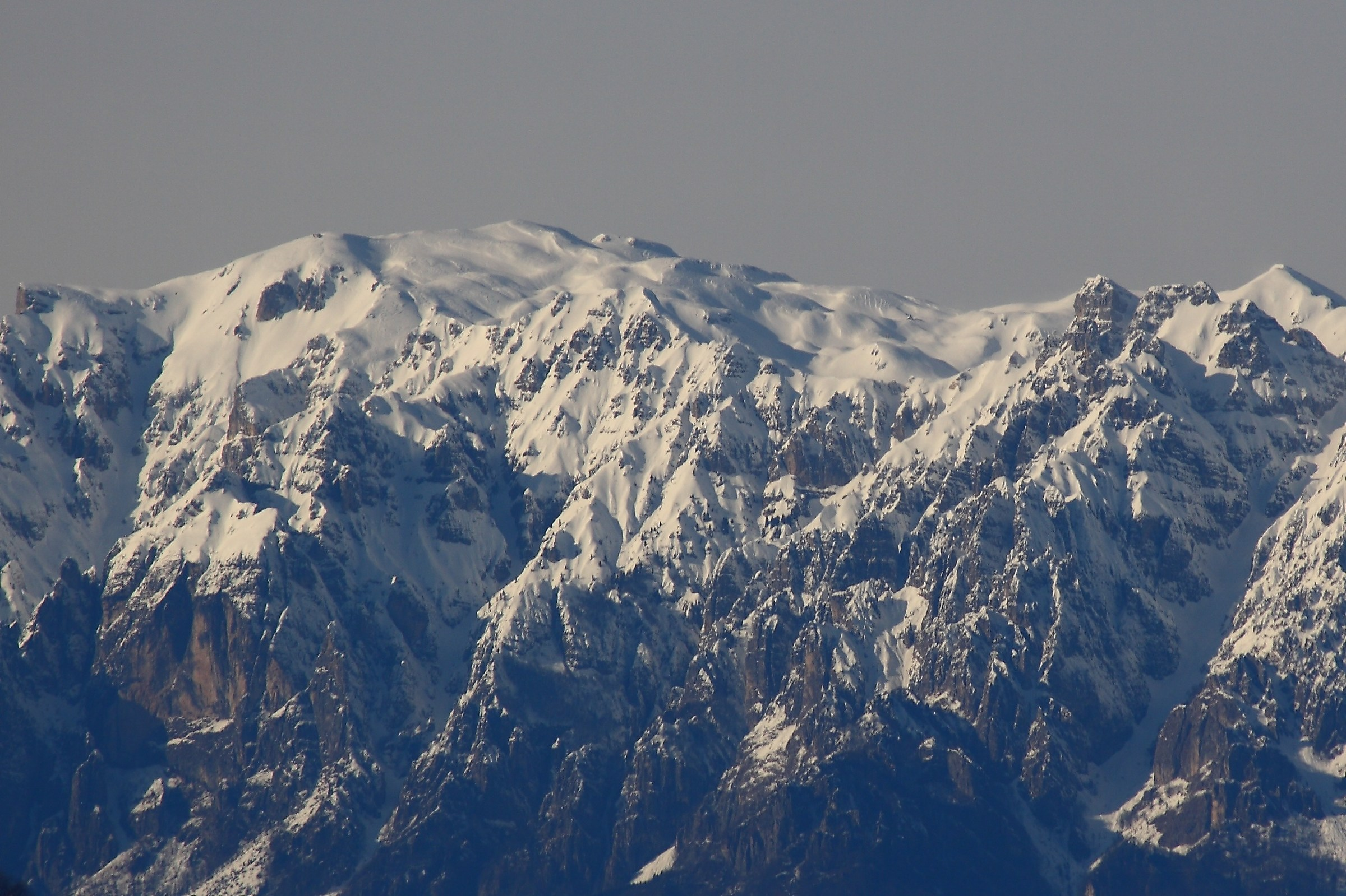 The pasubio from 40km...