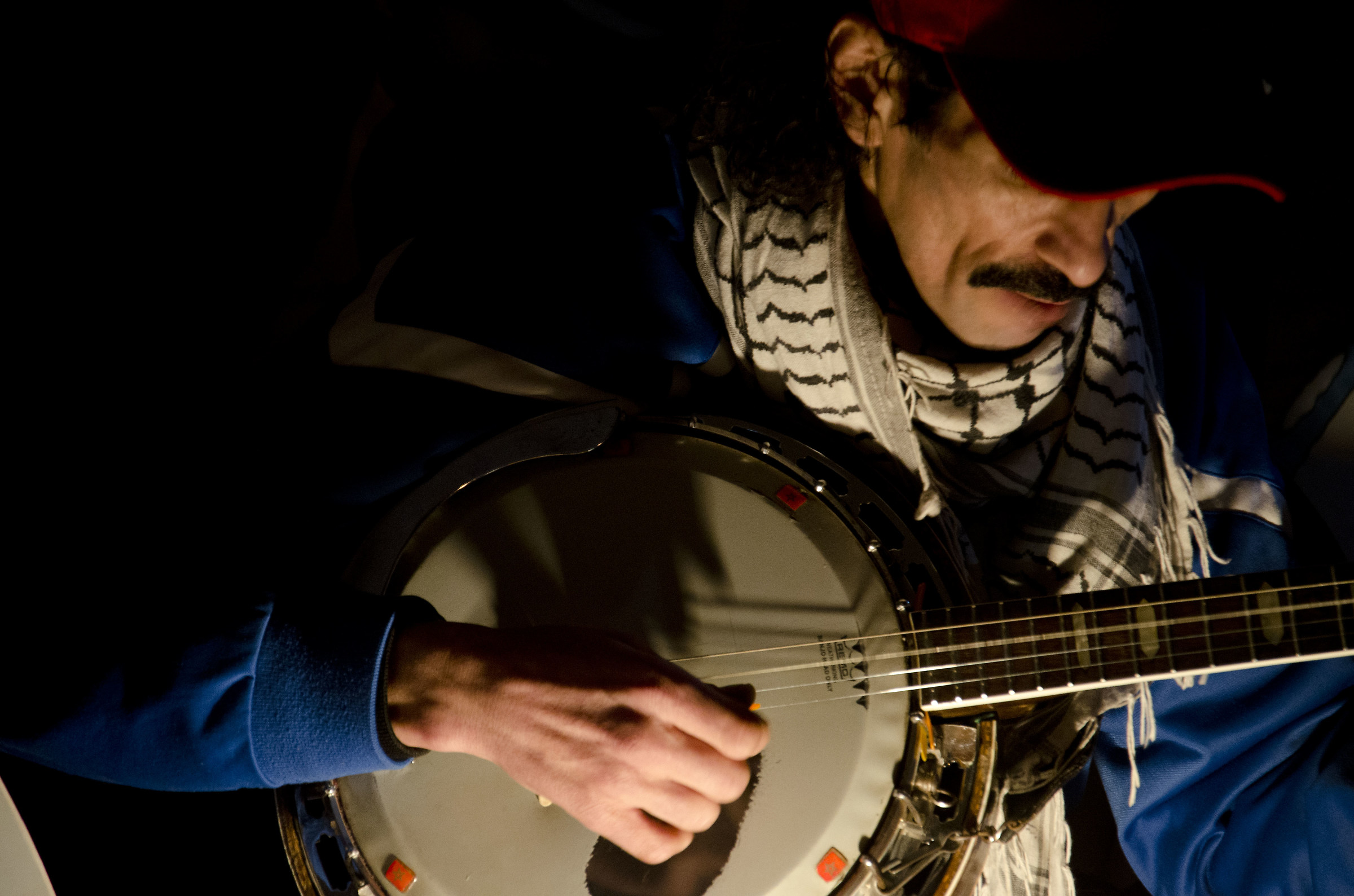 l'uomo ed il banjo...