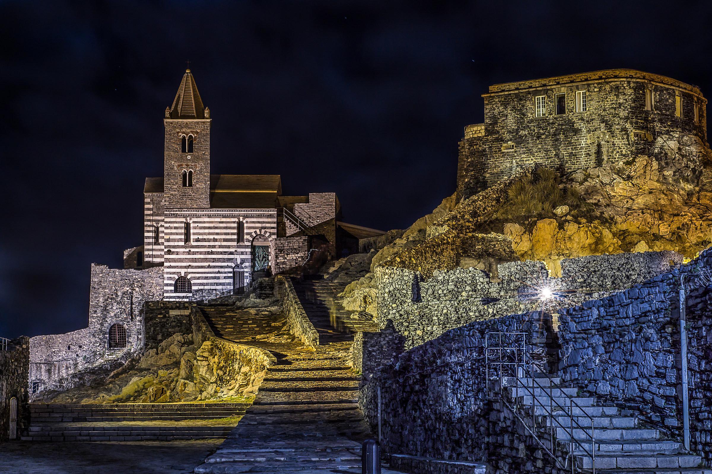 Rock of Portovenere...