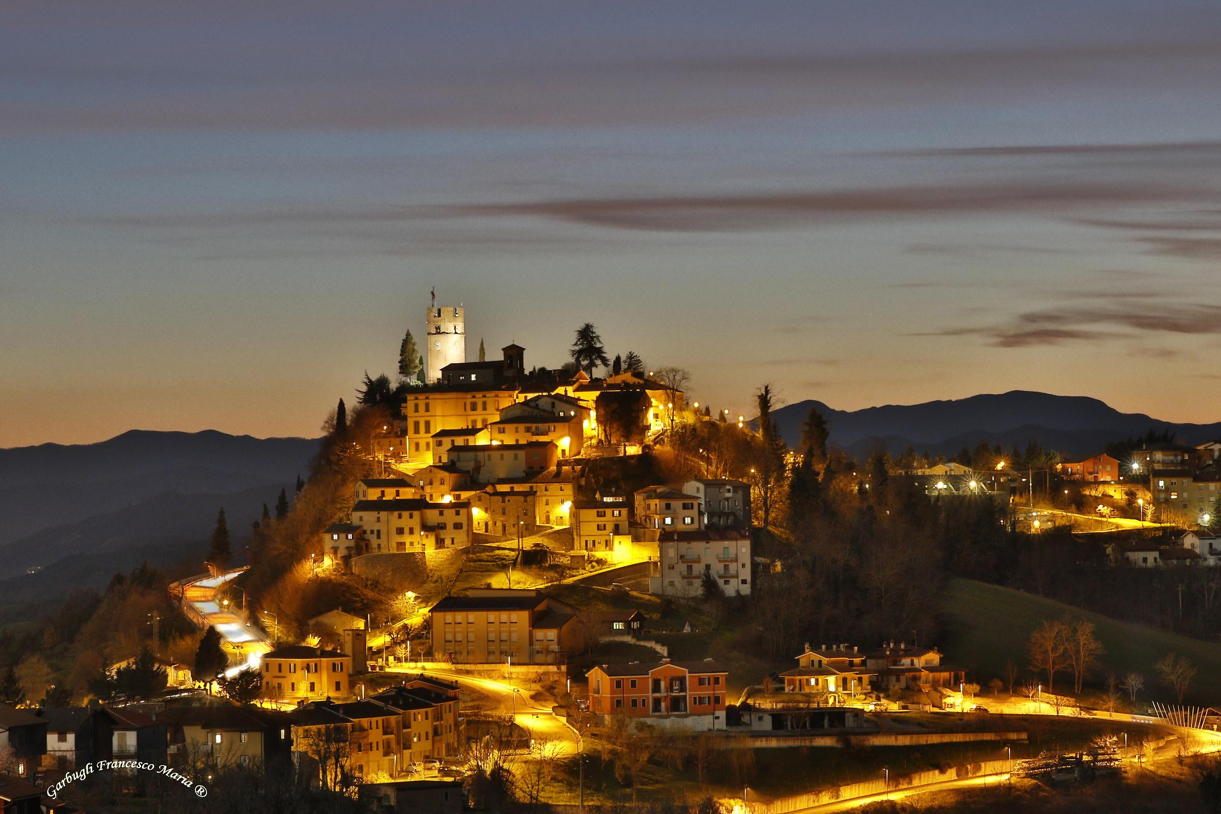 """Night of Peglio """"Borgo del Montefeltro""""..."""