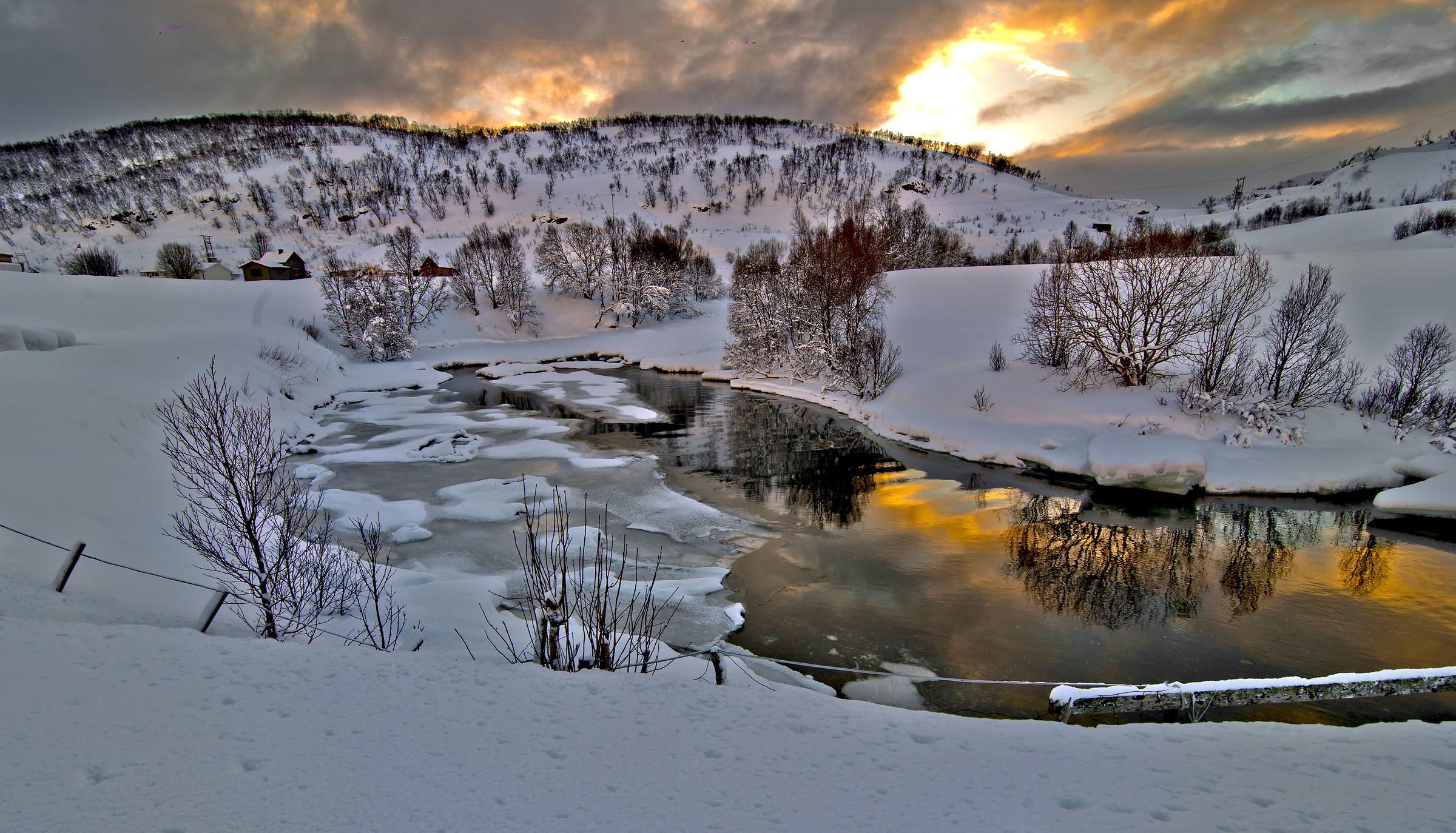 paesaggio norvegese!!...