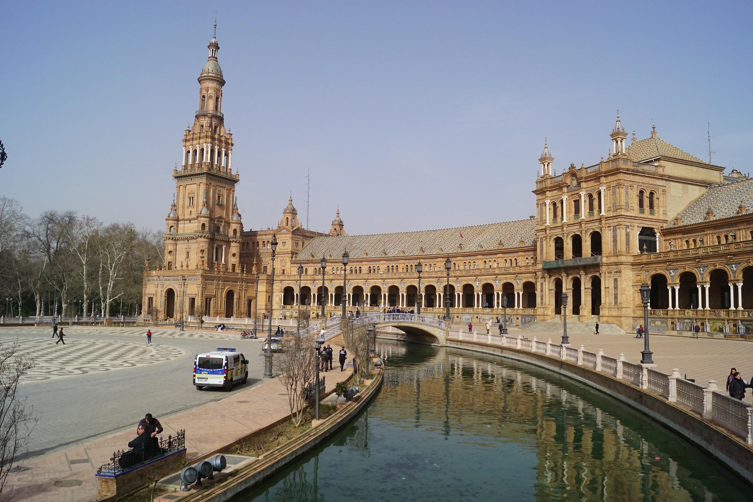 Walking through Seville...