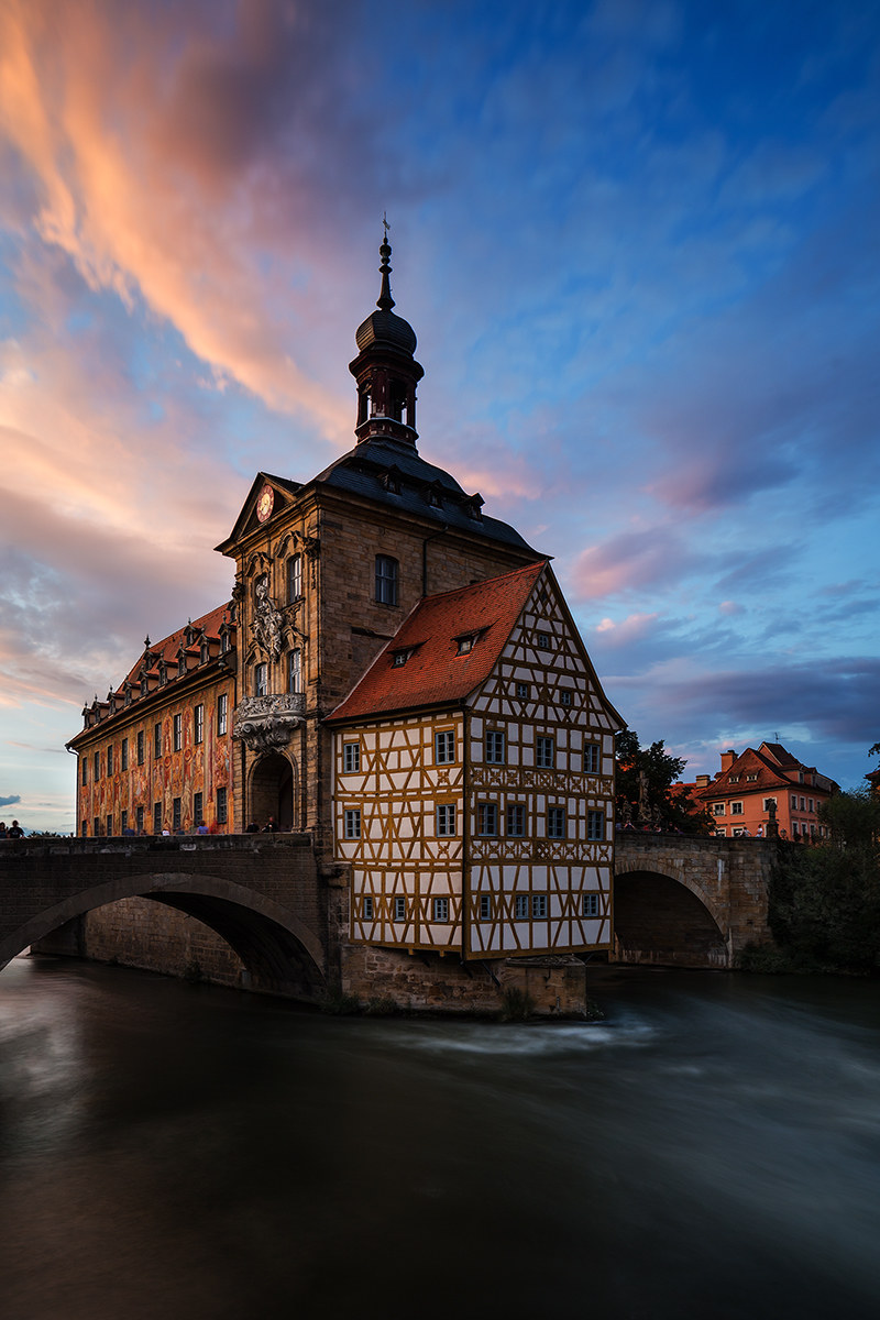 Bamberg, the old town hall...