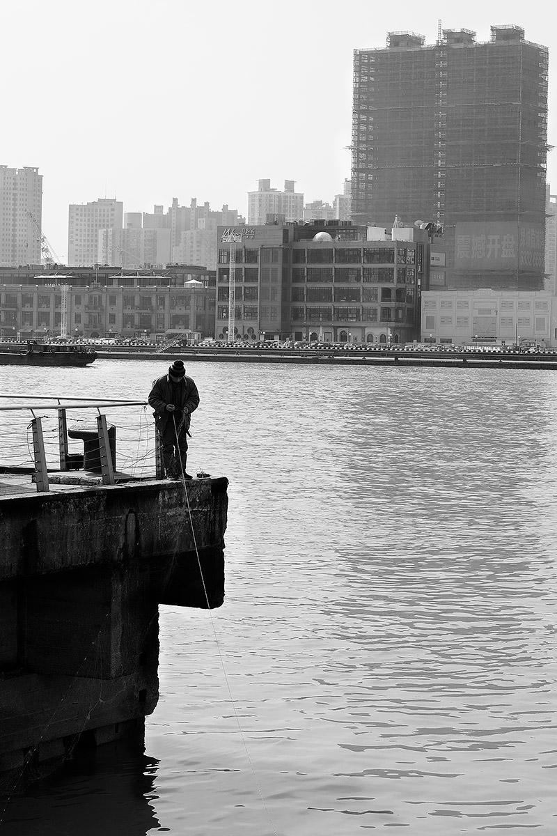 La solitudine del pescatore......