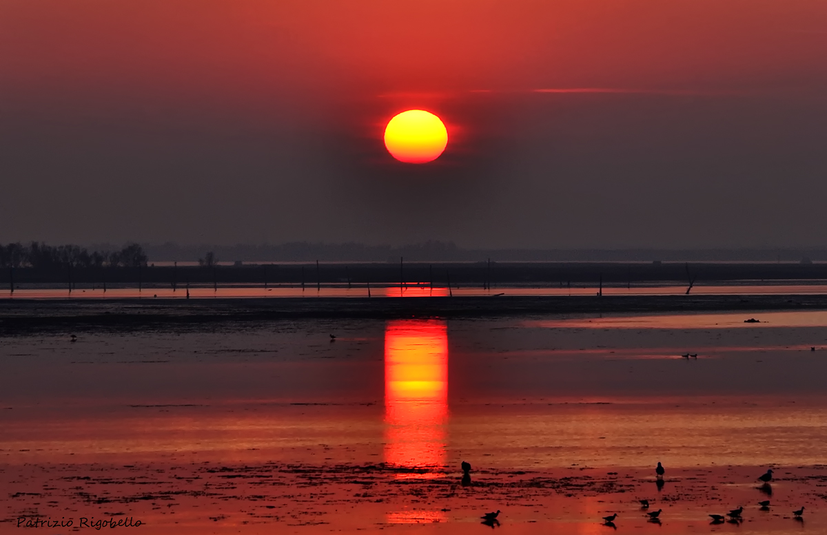 Sunset on the Lagoon Caleri...