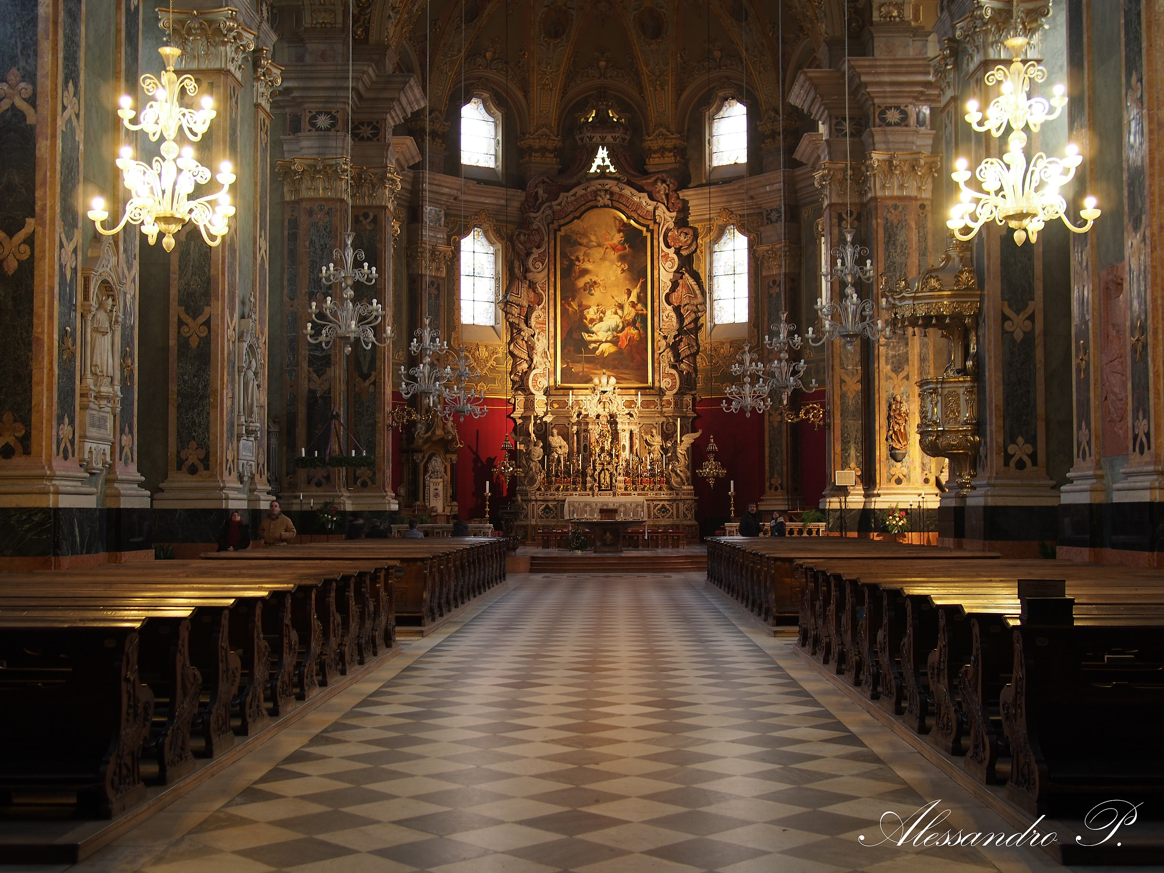 Cathedral of Bressanone, Italy...