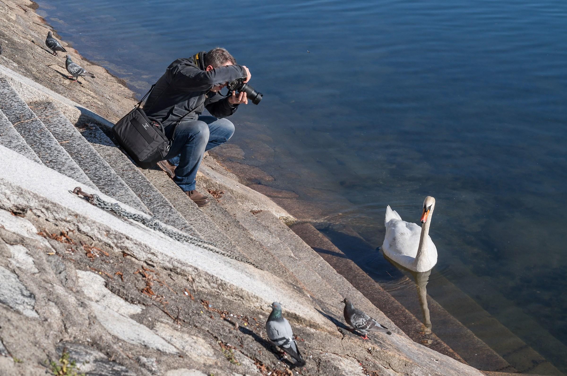 Domenica pomeriggio di marzo - Fotografo fotografato 2...