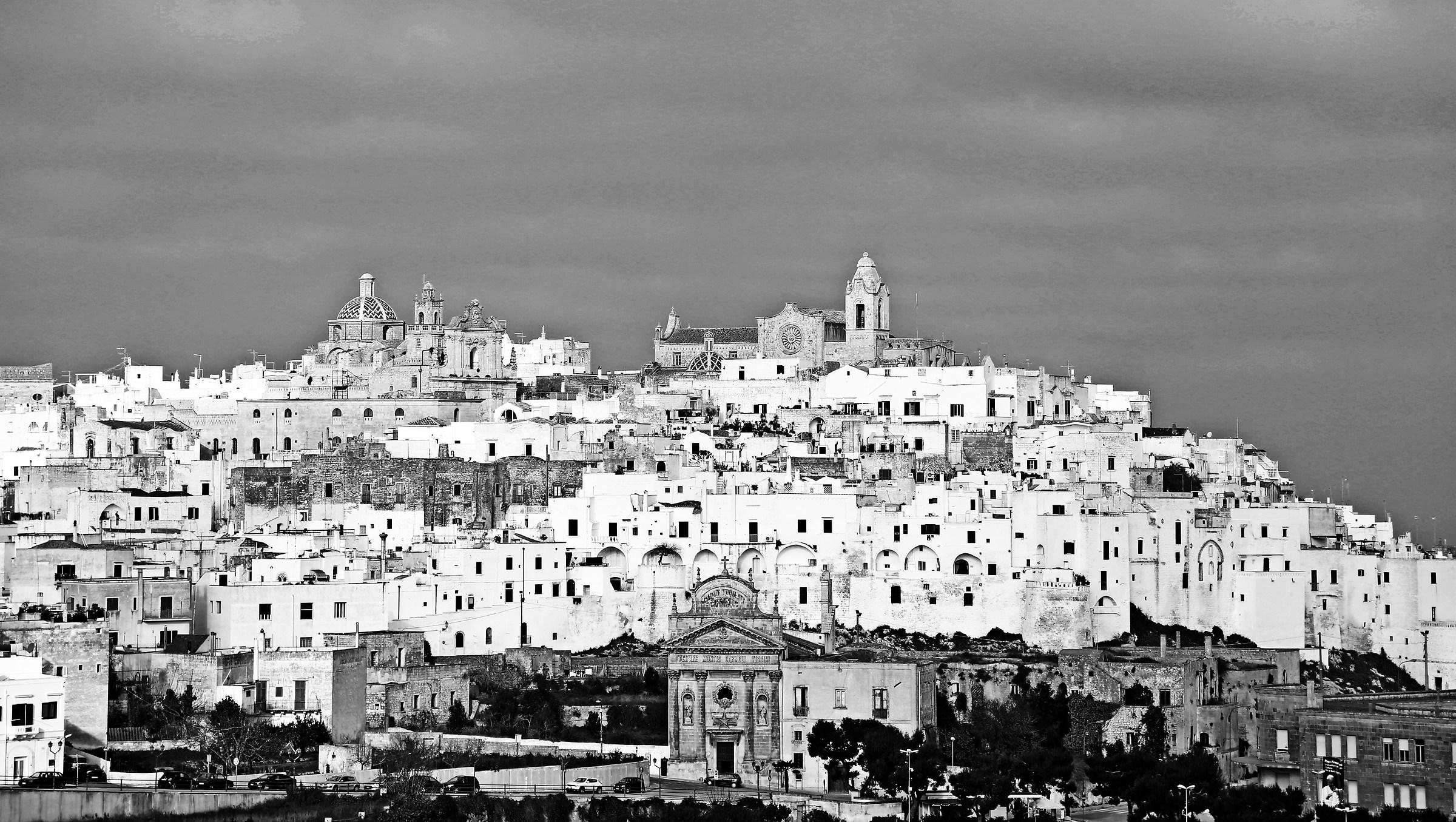 Ostuni, the white city...