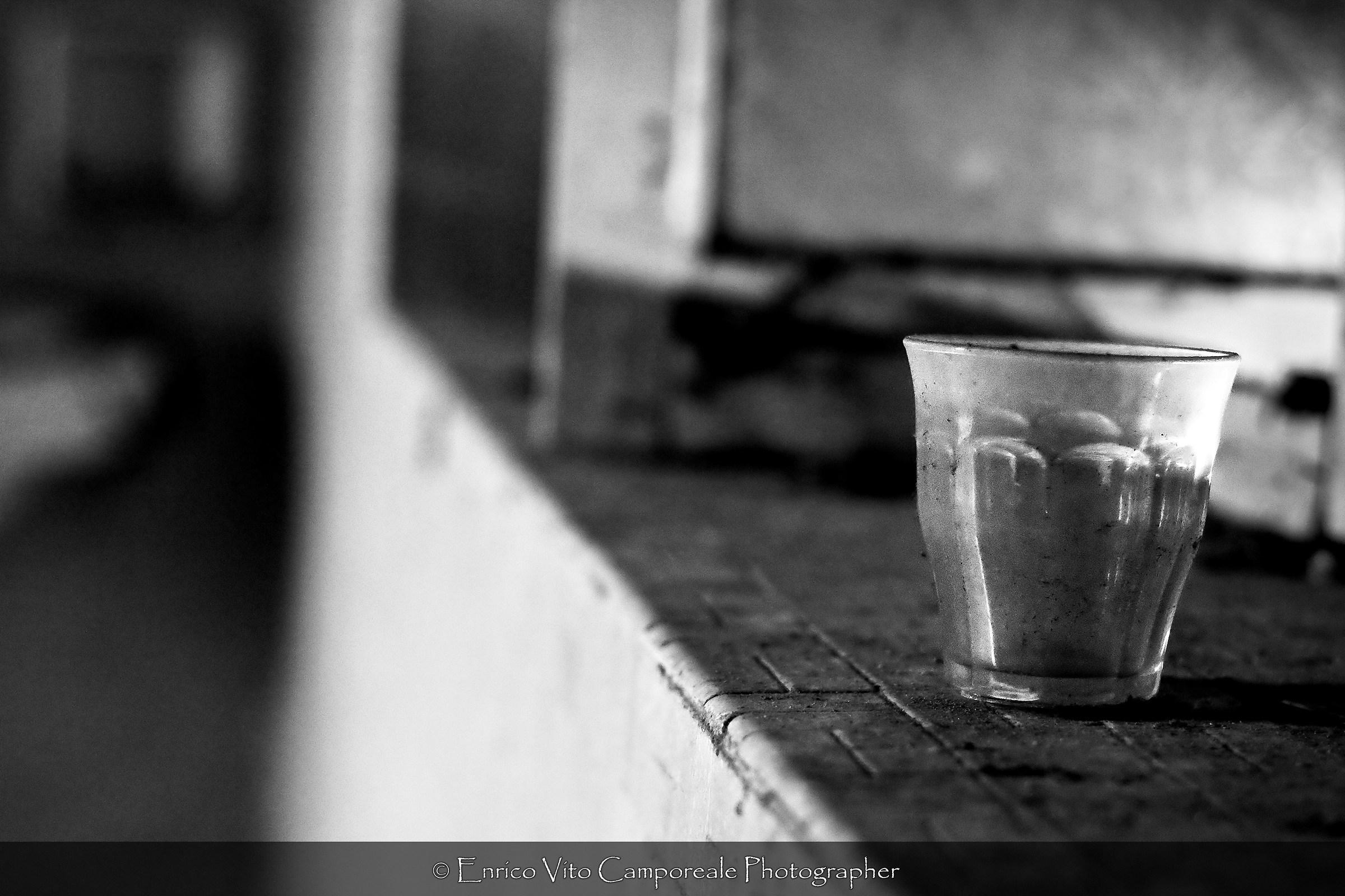 The last sip...