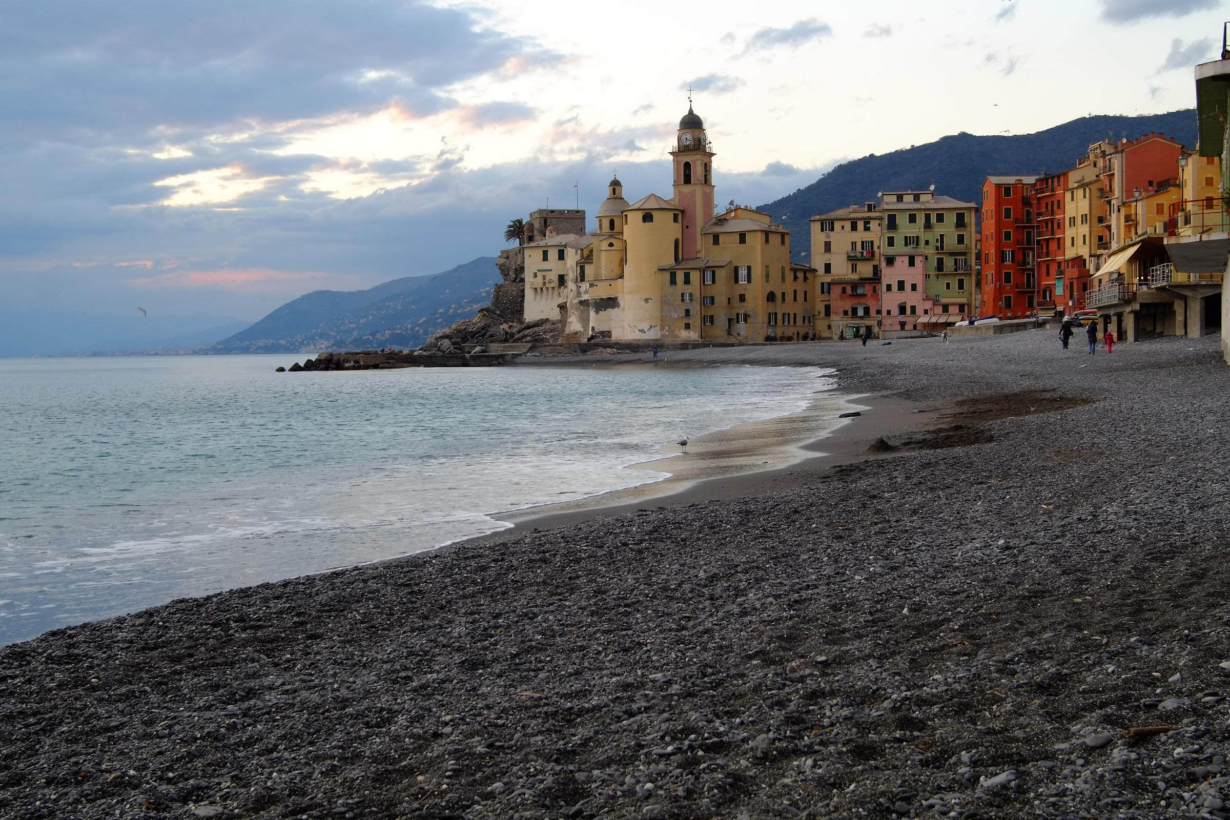 Camogli beach...