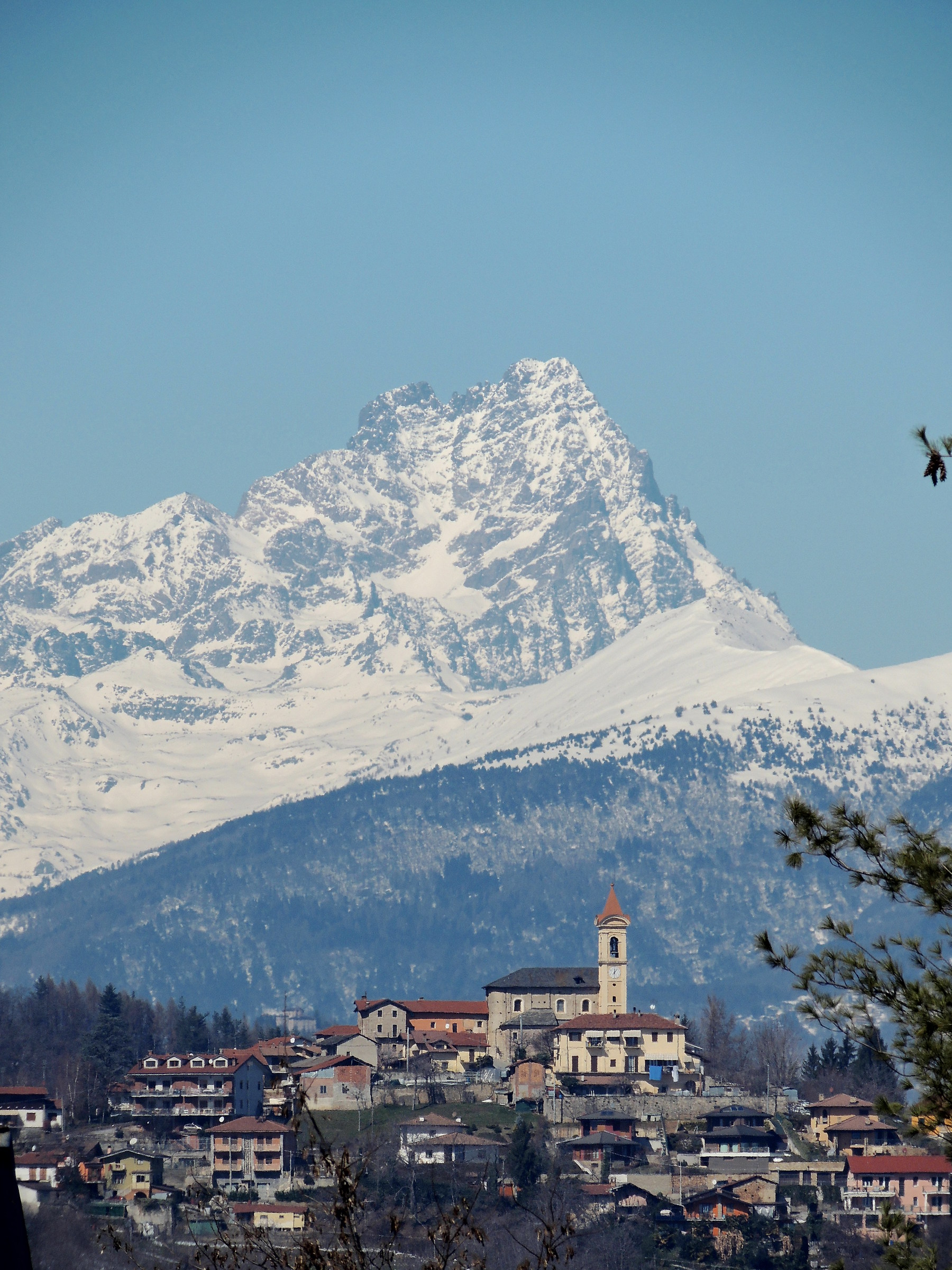 """michele and the """"king"""" monviso..."""