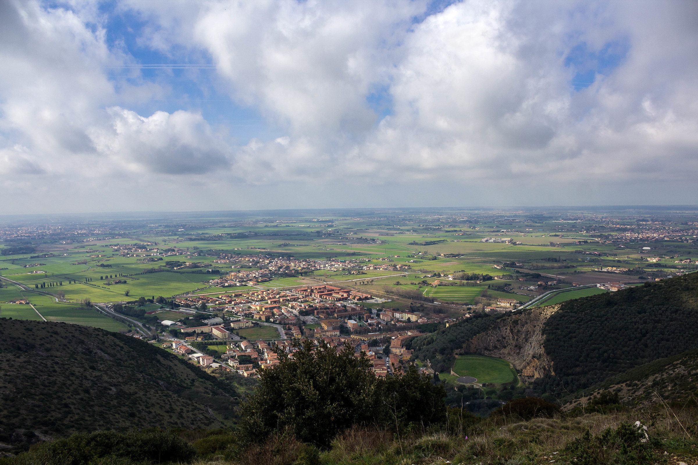 San Giuliano from above...