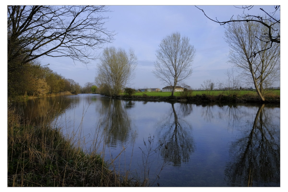 Le tranquille acque del Mincio....