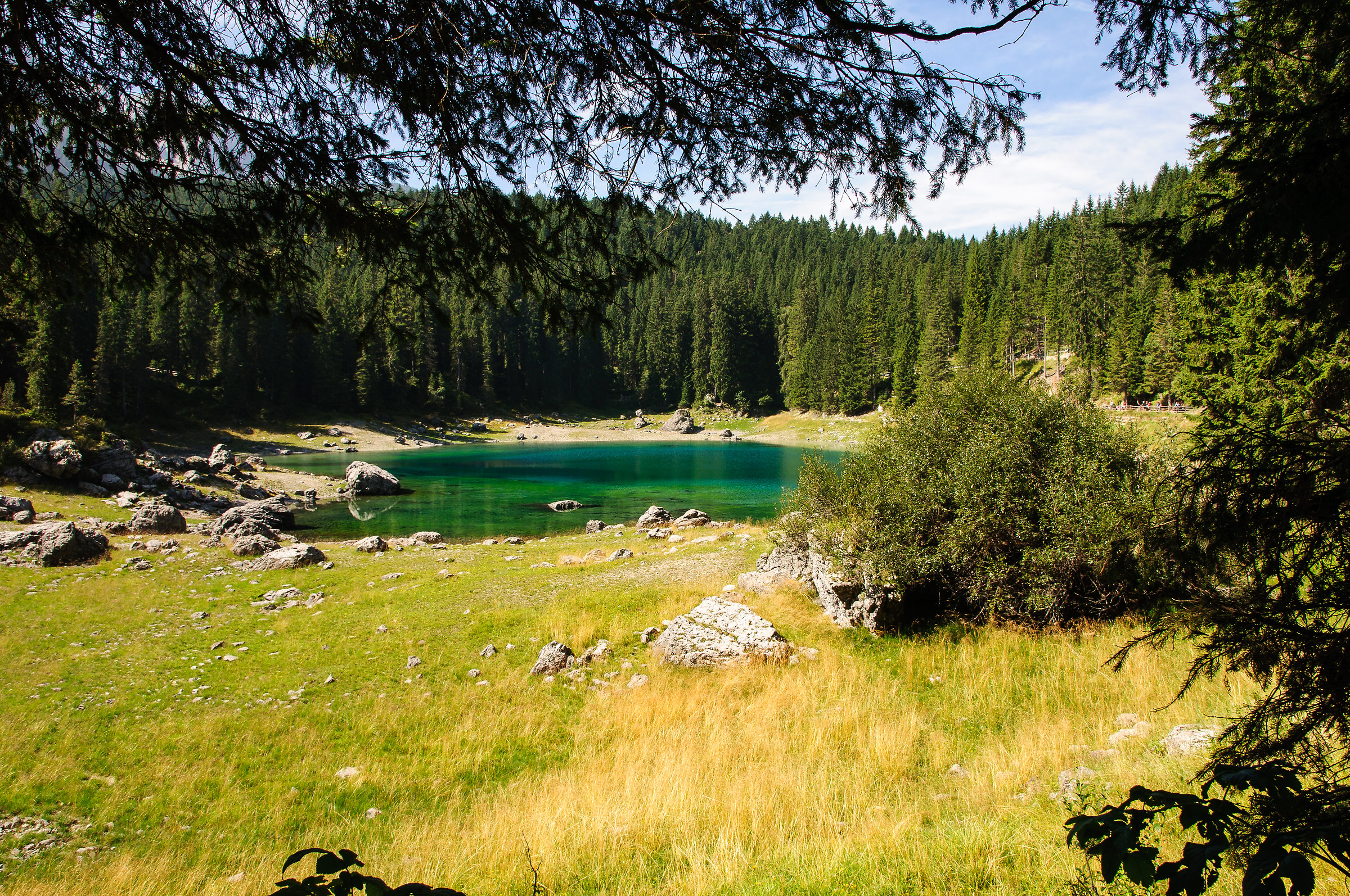 Lake Trentino caress...