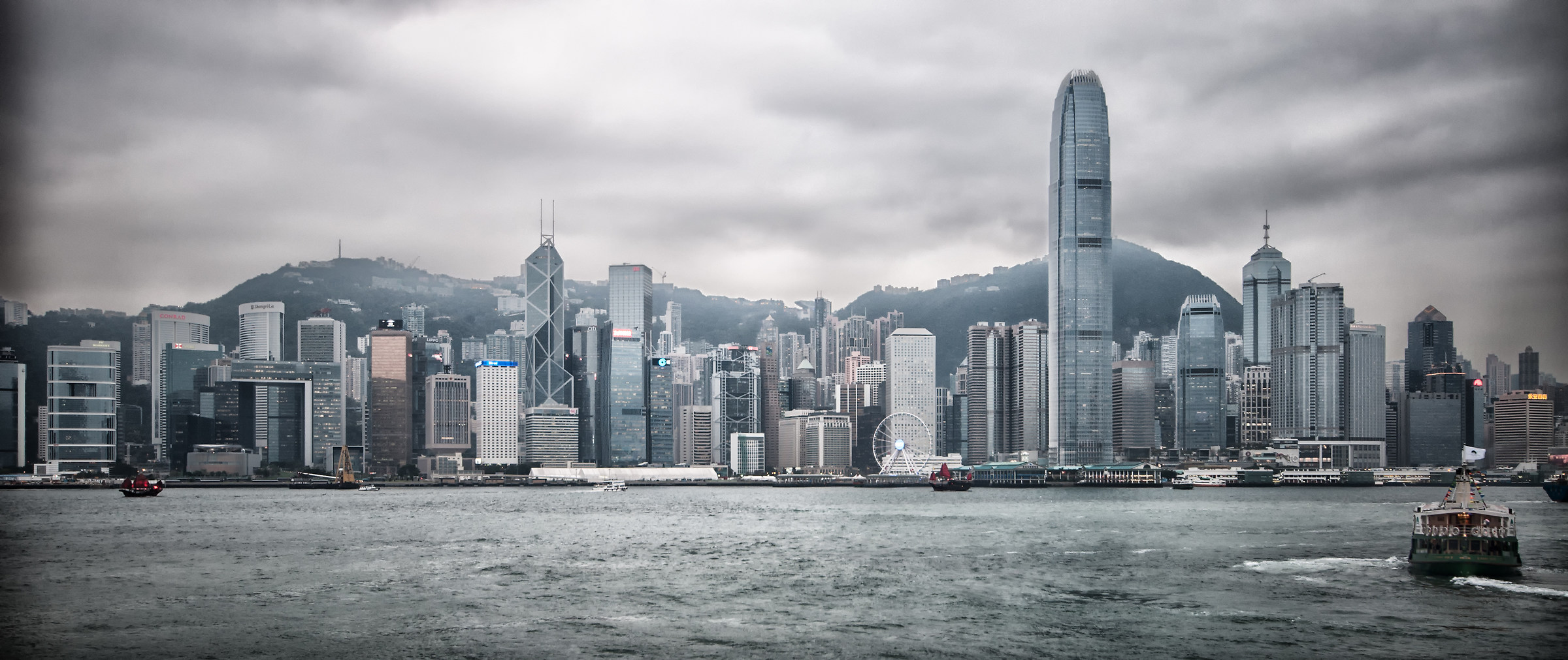 Hong Kong Sky Line...