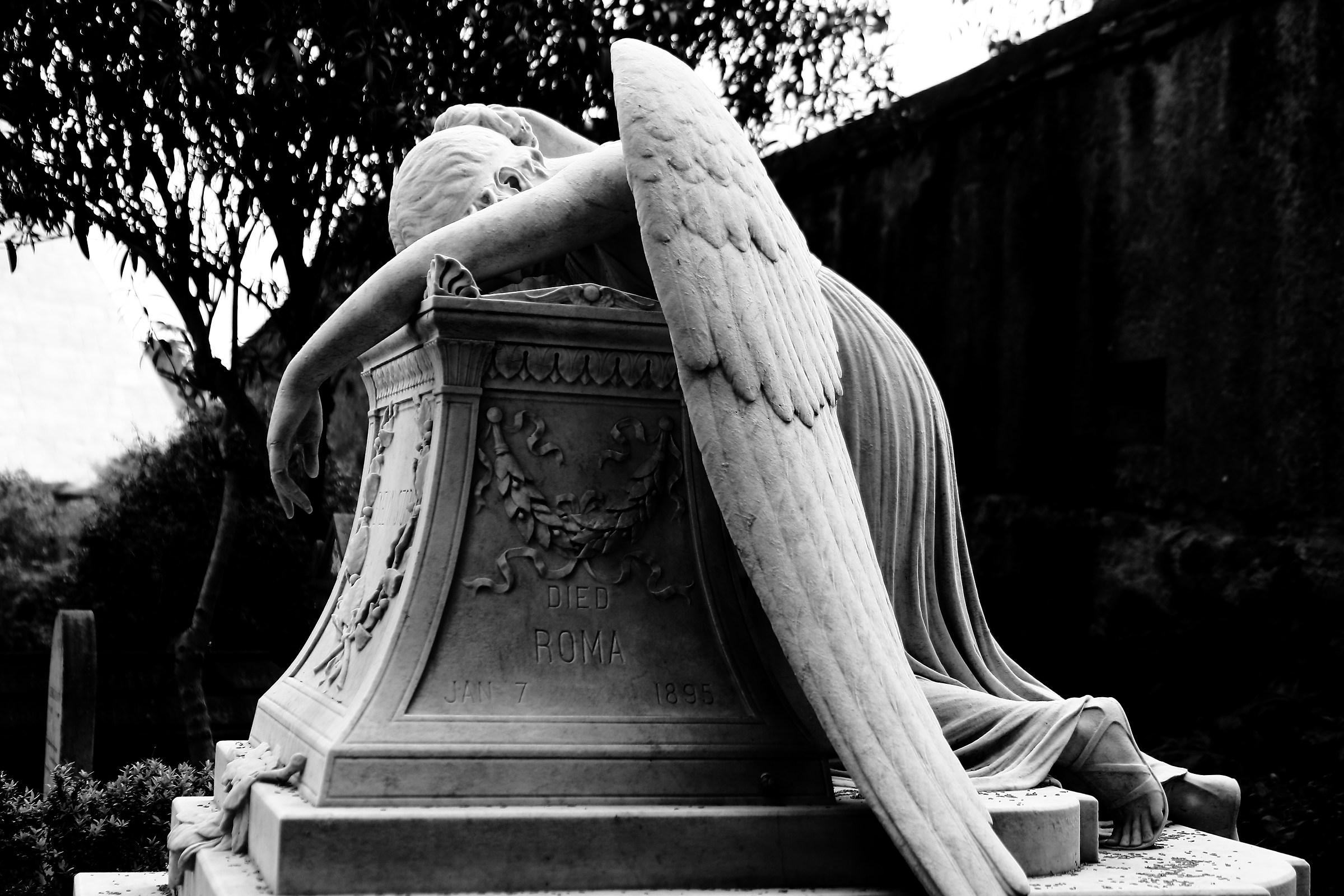 Angel of mercy...