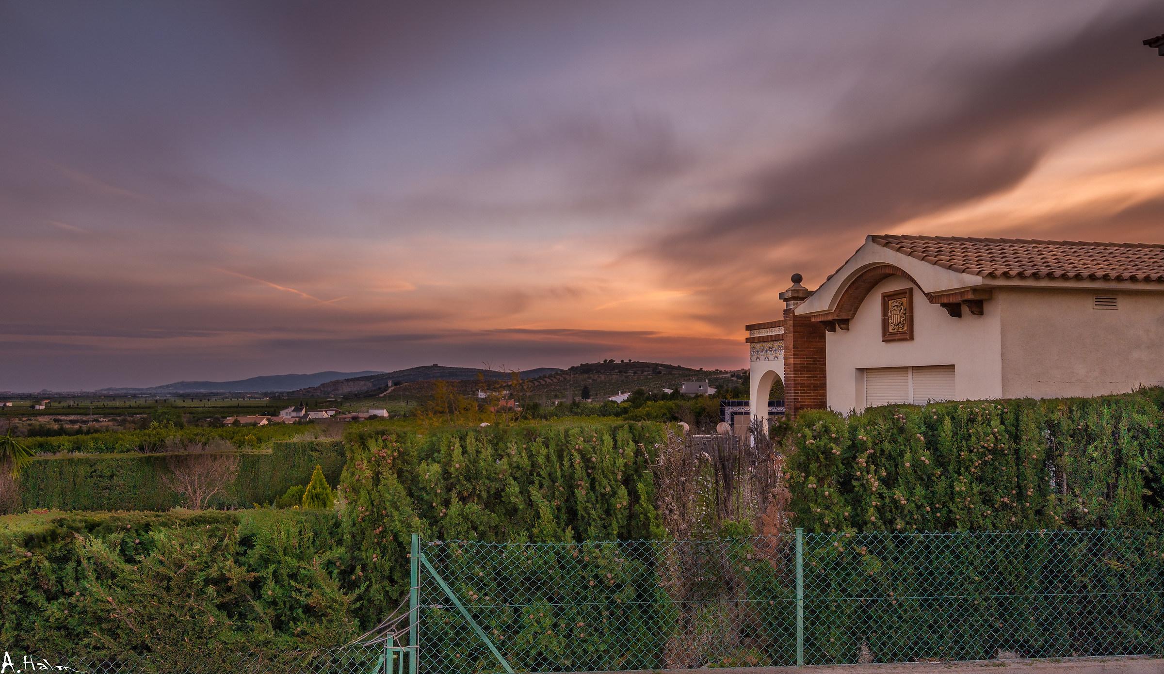 Dreamy Sunset in Vinaroz, Spain...