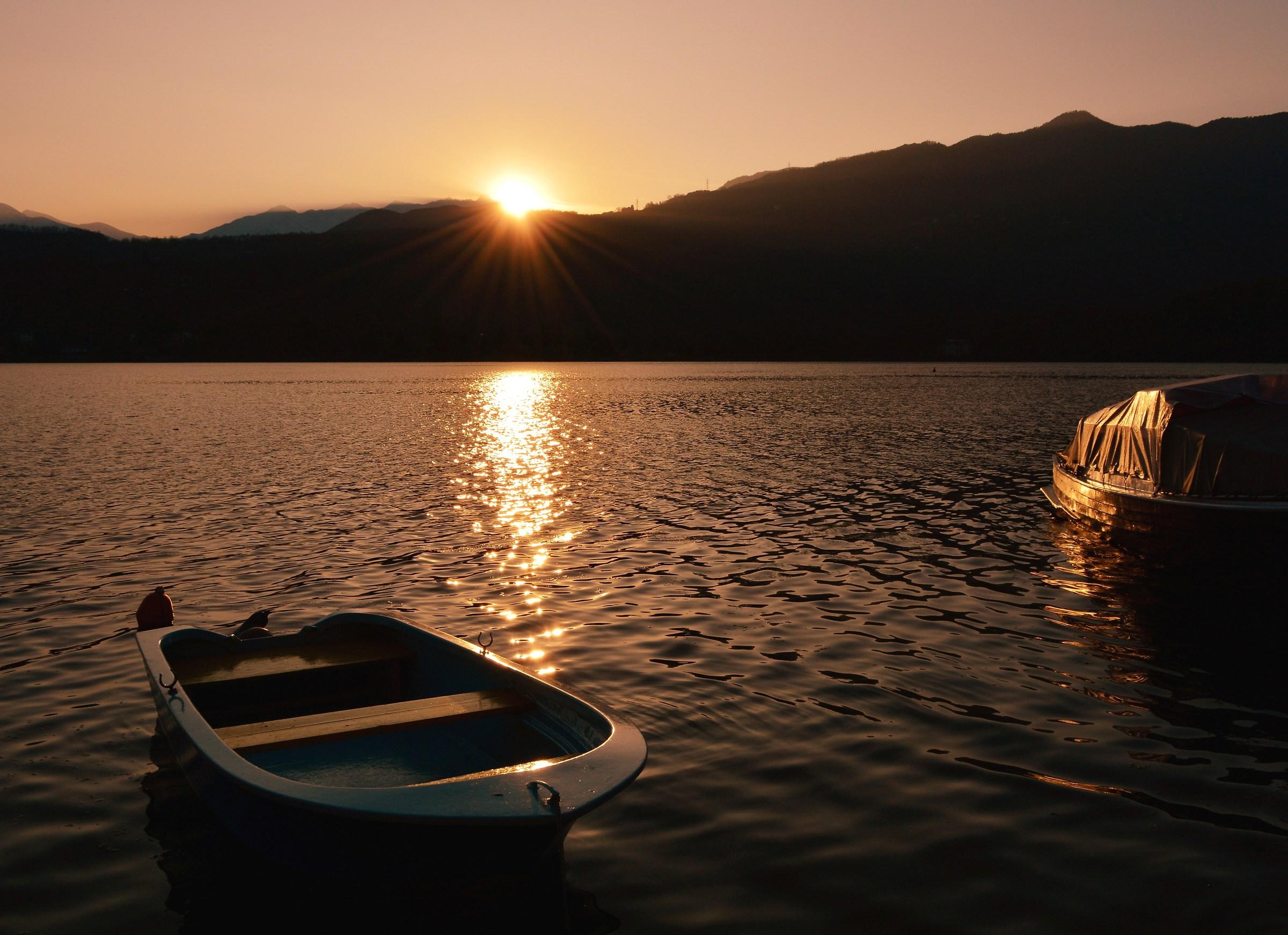 Lago Grande of Avigliana...