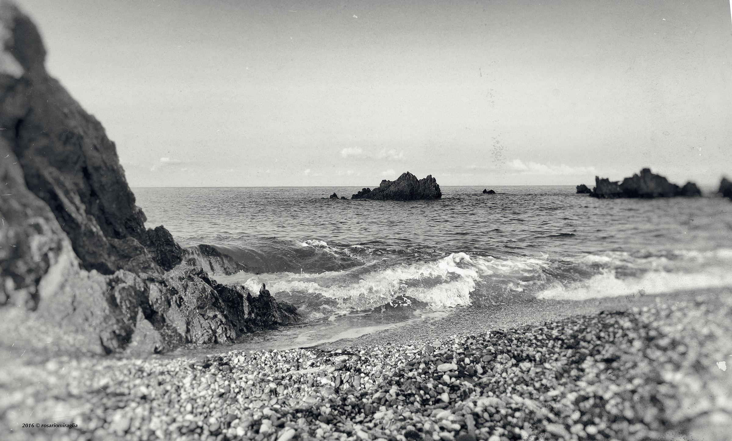 alone ... the rocks ......