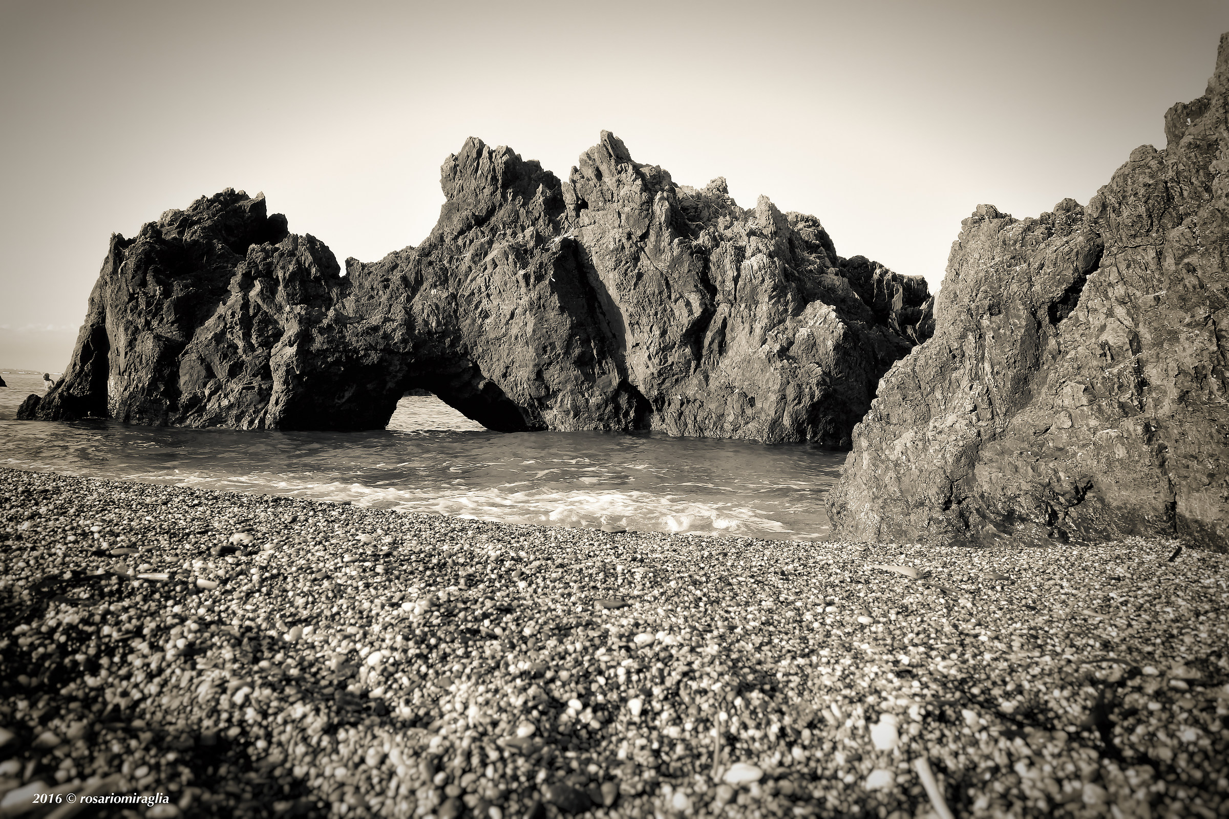 the small arch...