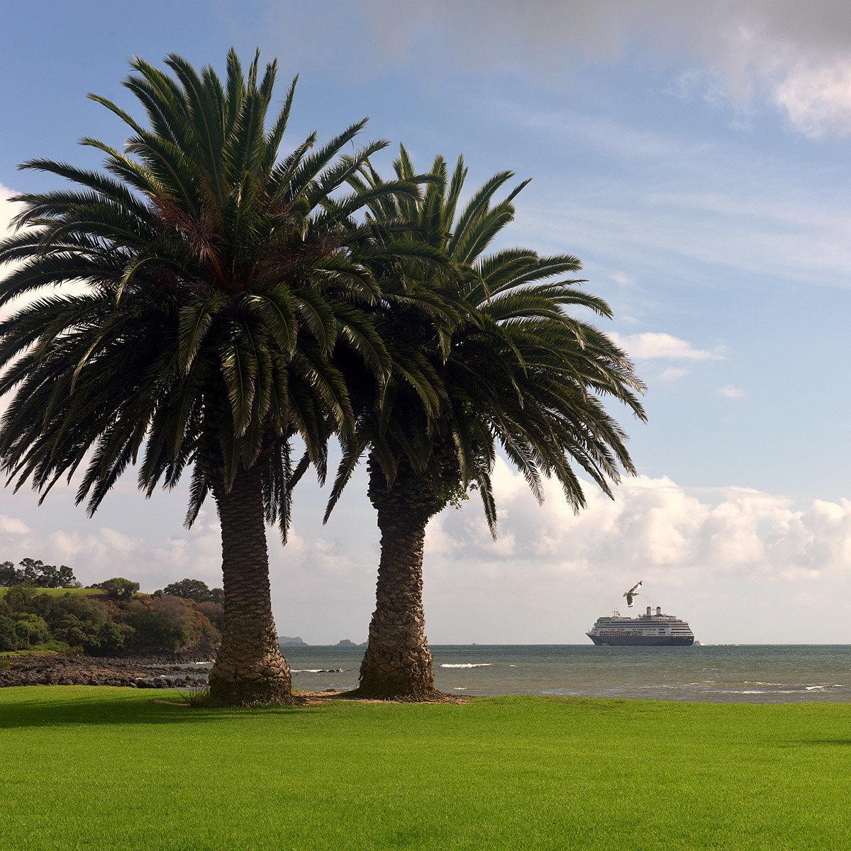 Waitangi, Bau of Islands, New Zealand...