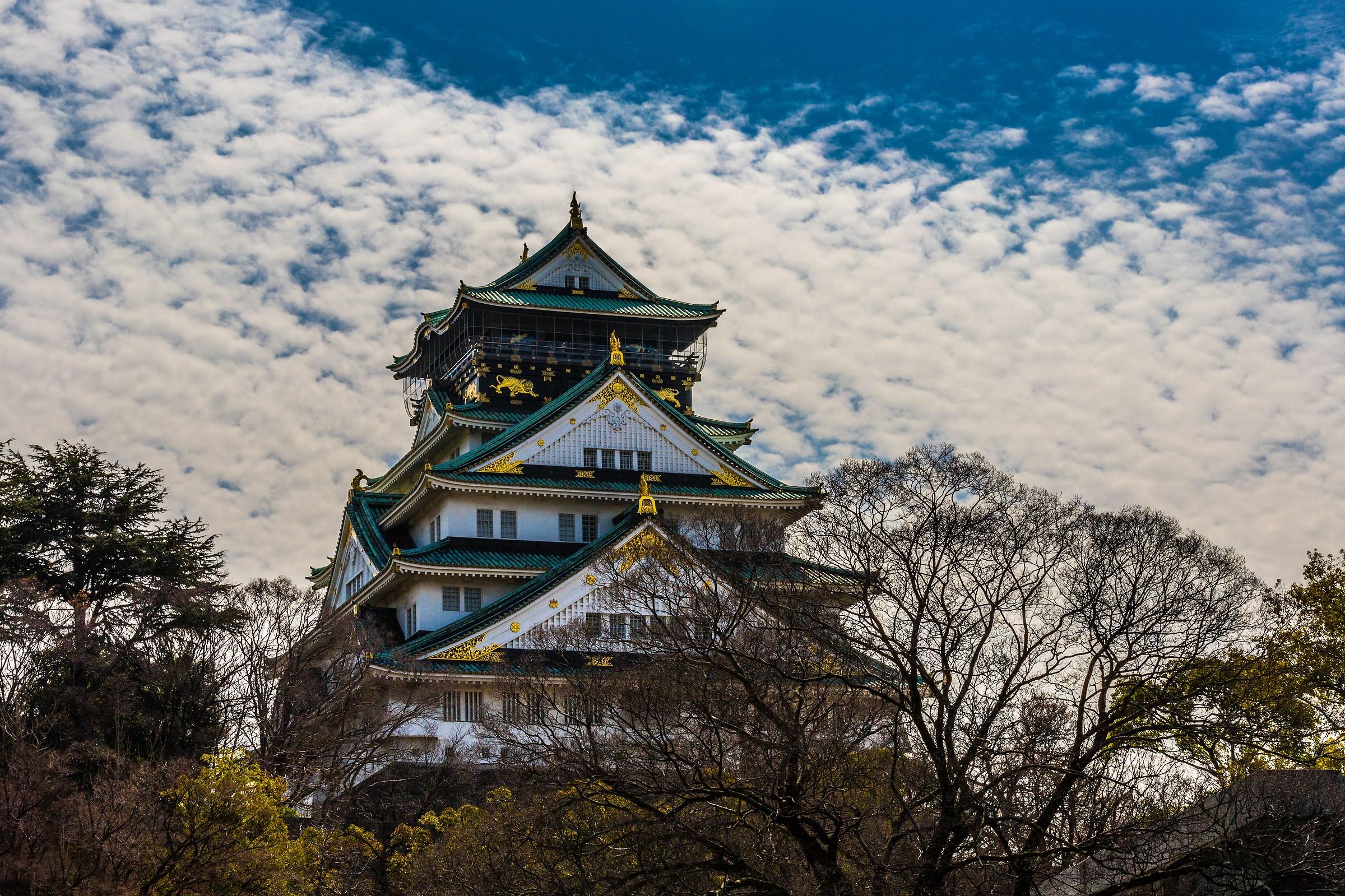 Osaka castel...