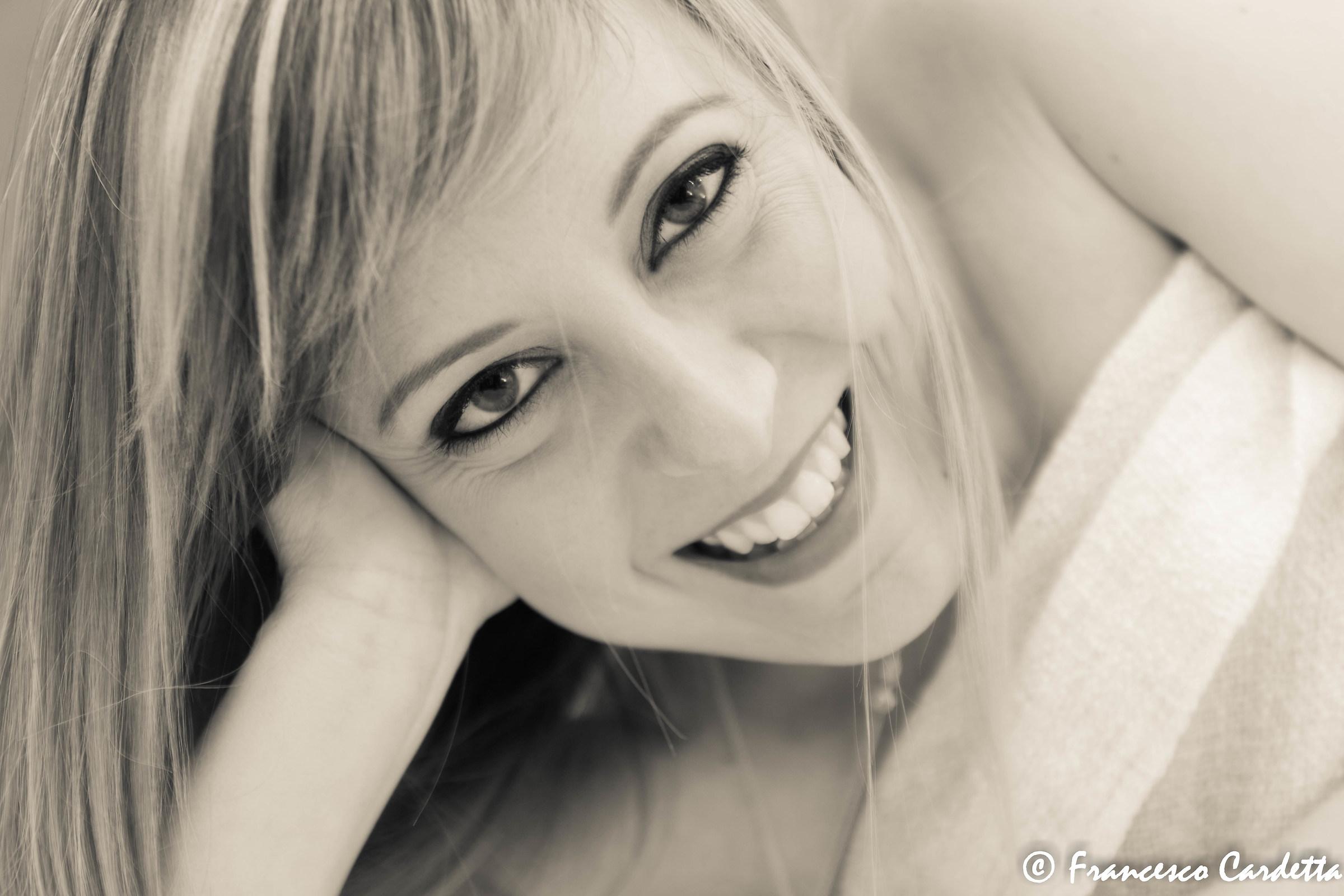 Alexia smile!...