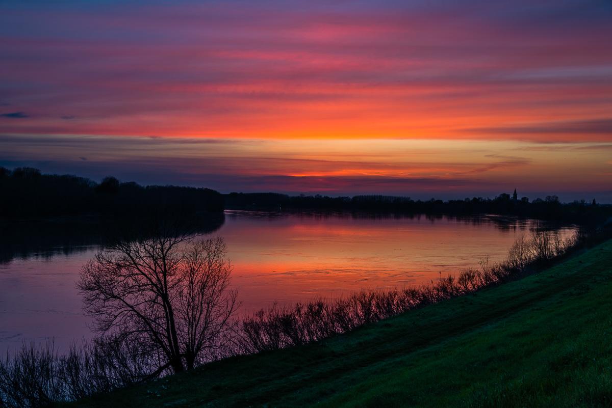 Sunset on the Po...