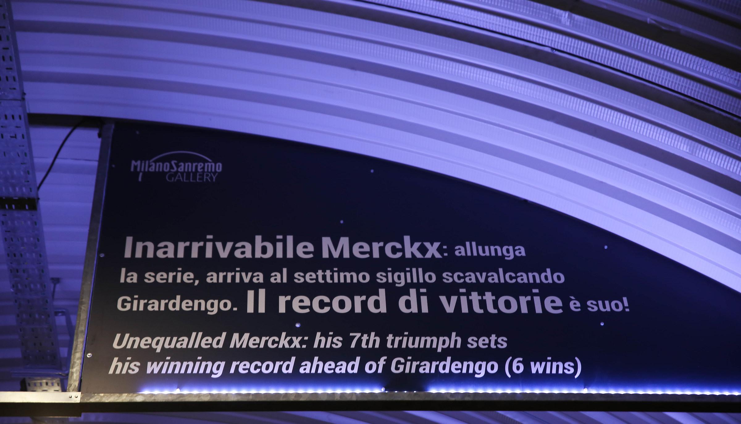 THE Eddy Merckx record...