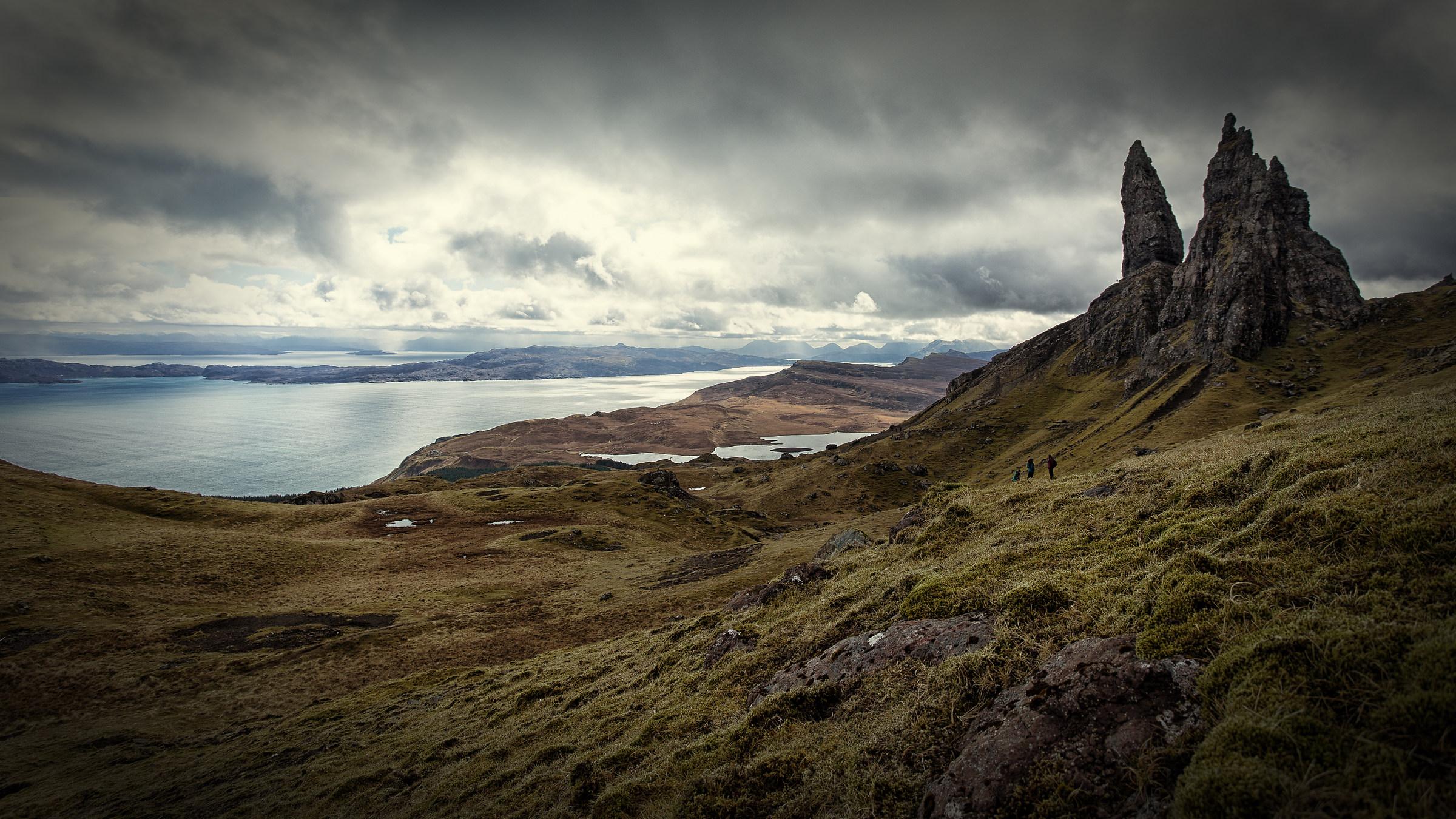 Oly Man of Storr - Skye, Scotland...