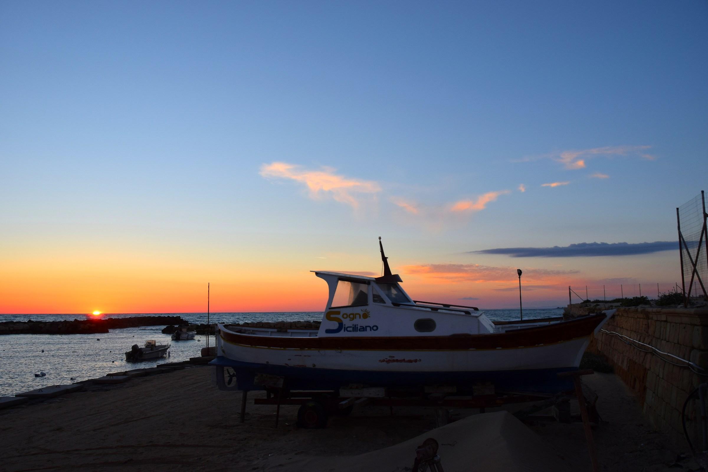Sunset in Punta Secca...