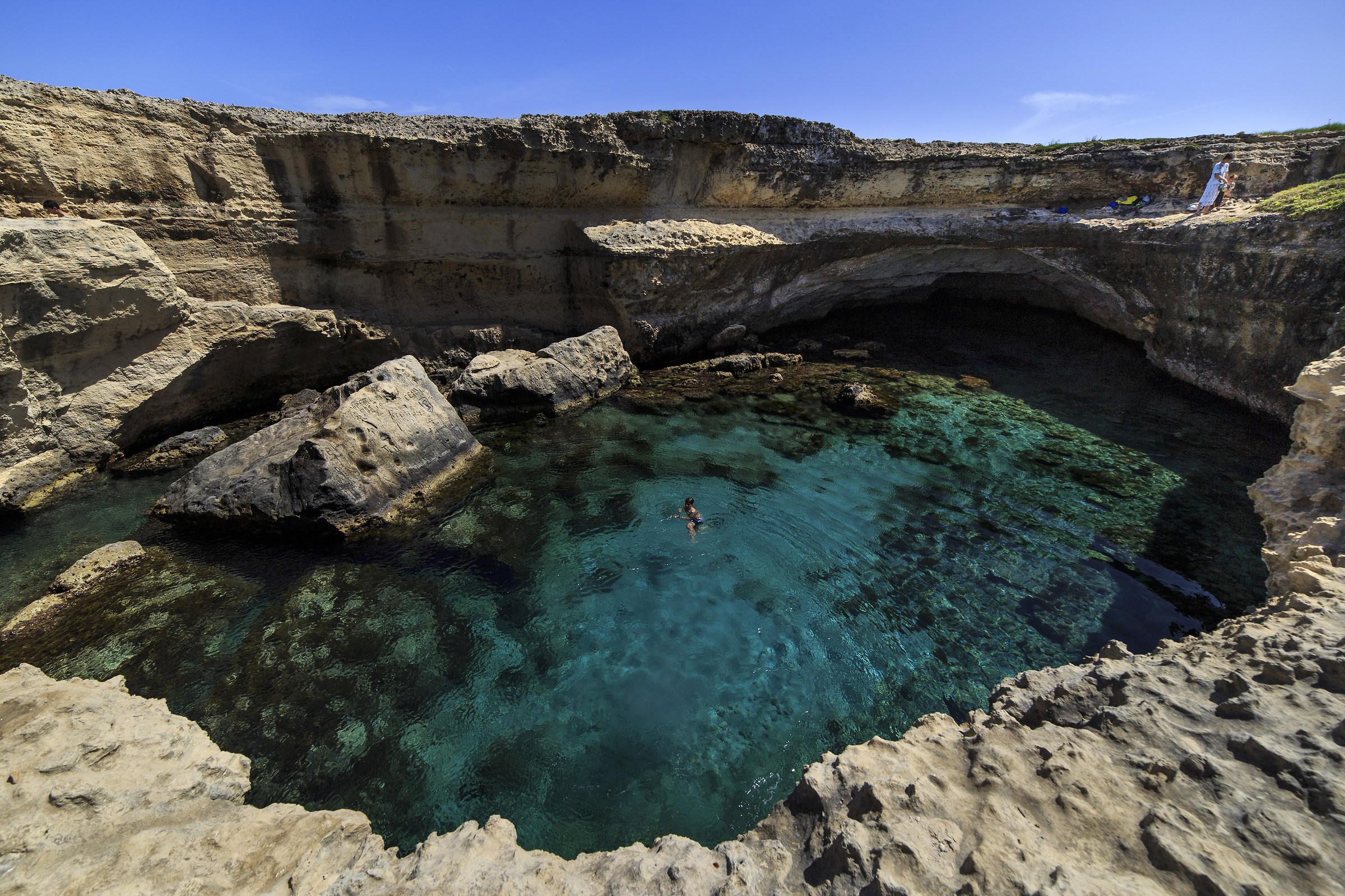 Grotta della Poesia (Apulia)...