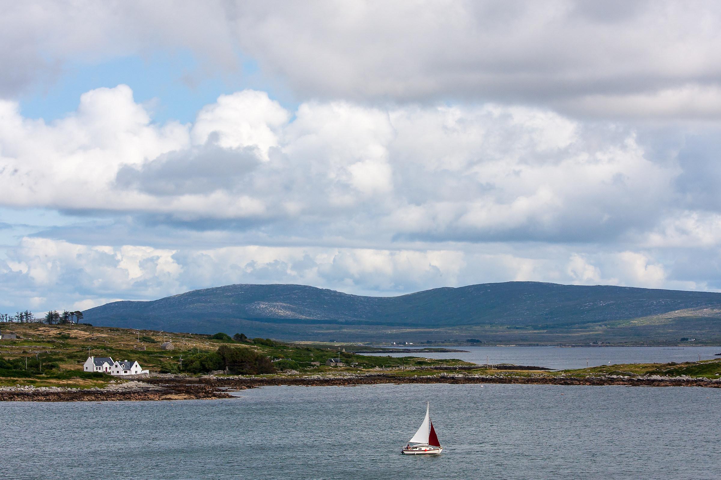 Connemara sail...