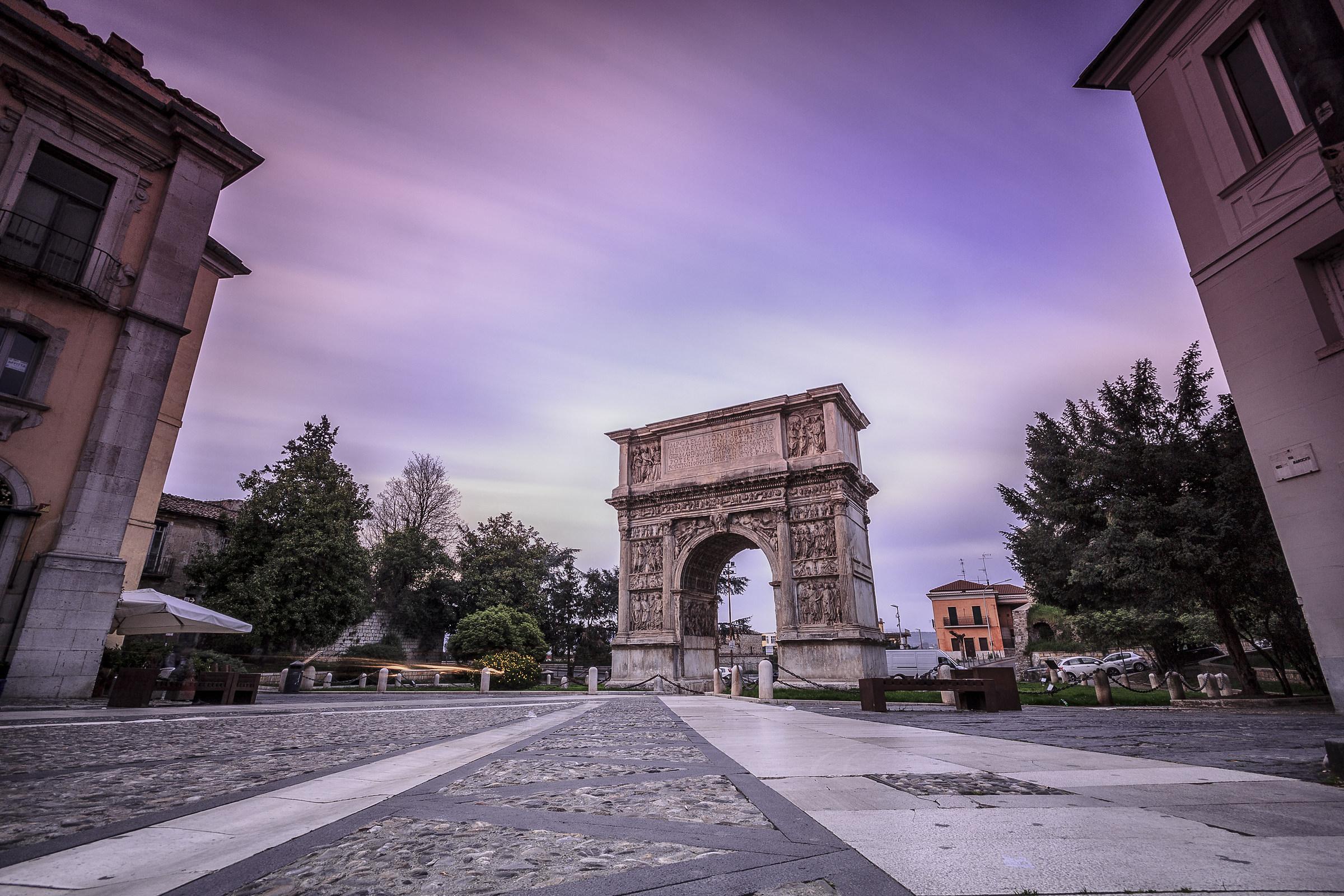 Arco di Traiano...