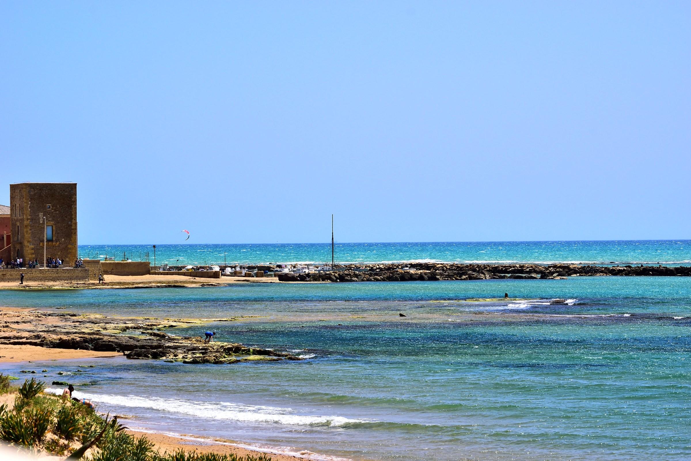 Cromie in Punta Secca di Levante wind...