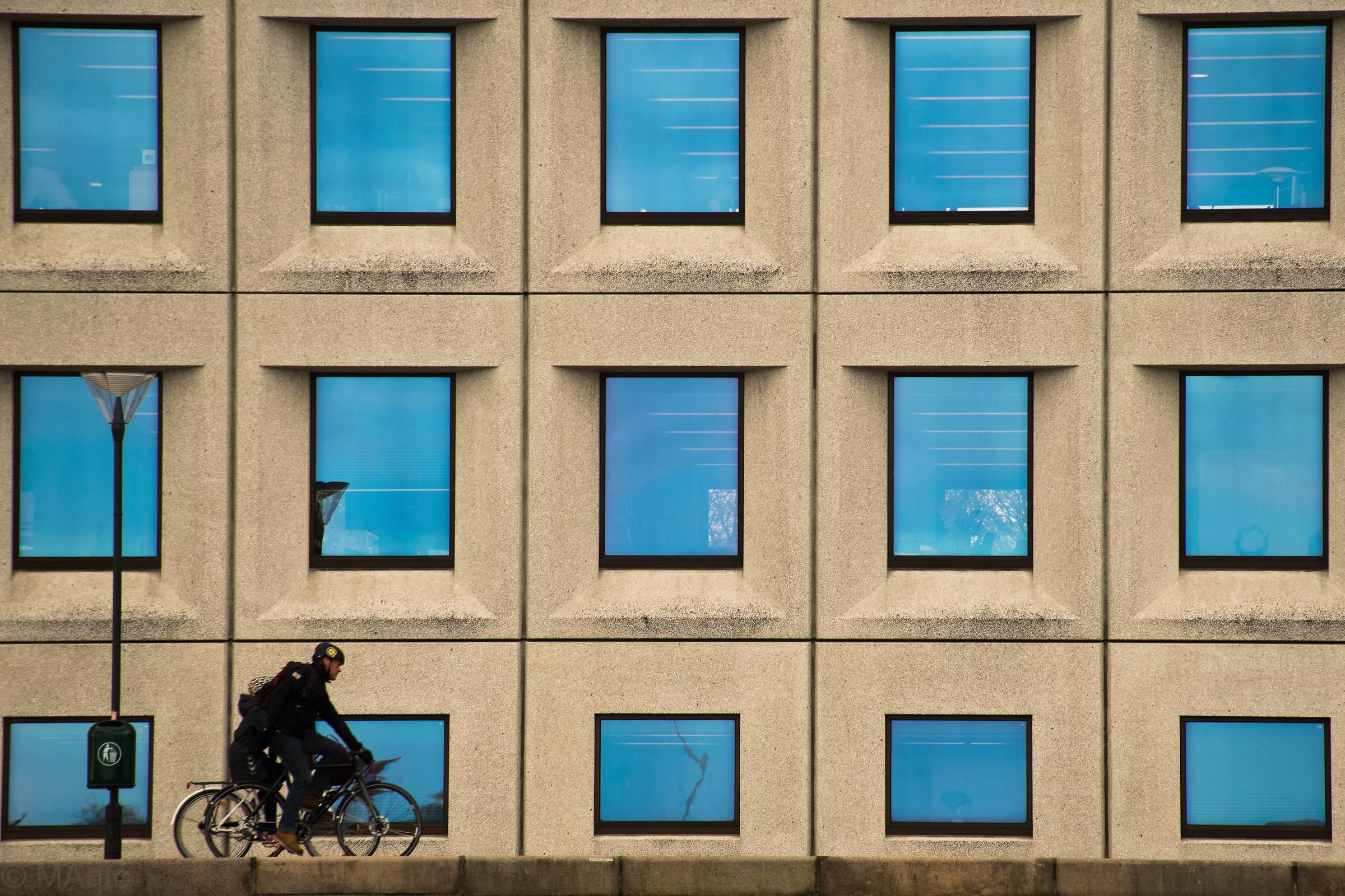 Blue windows...