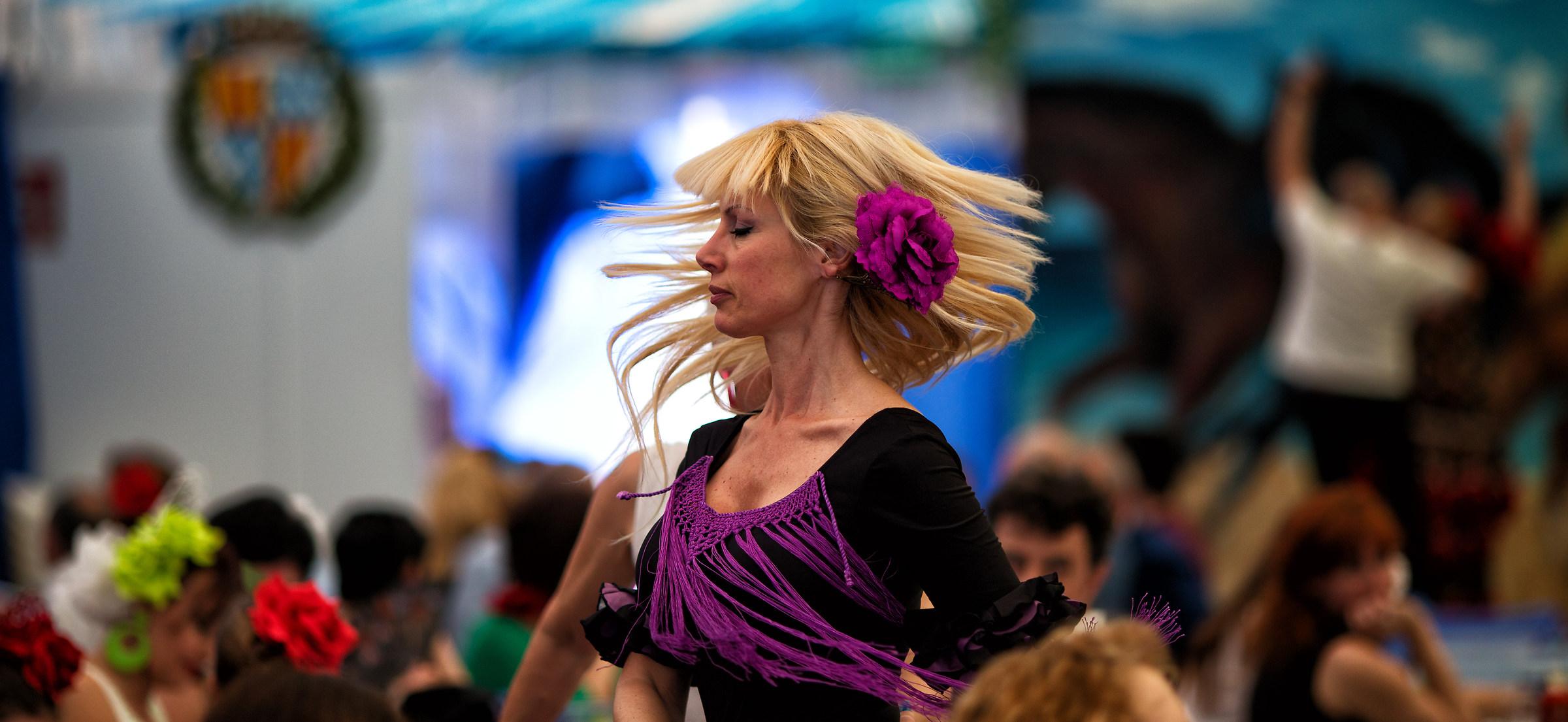 flamenco viola...