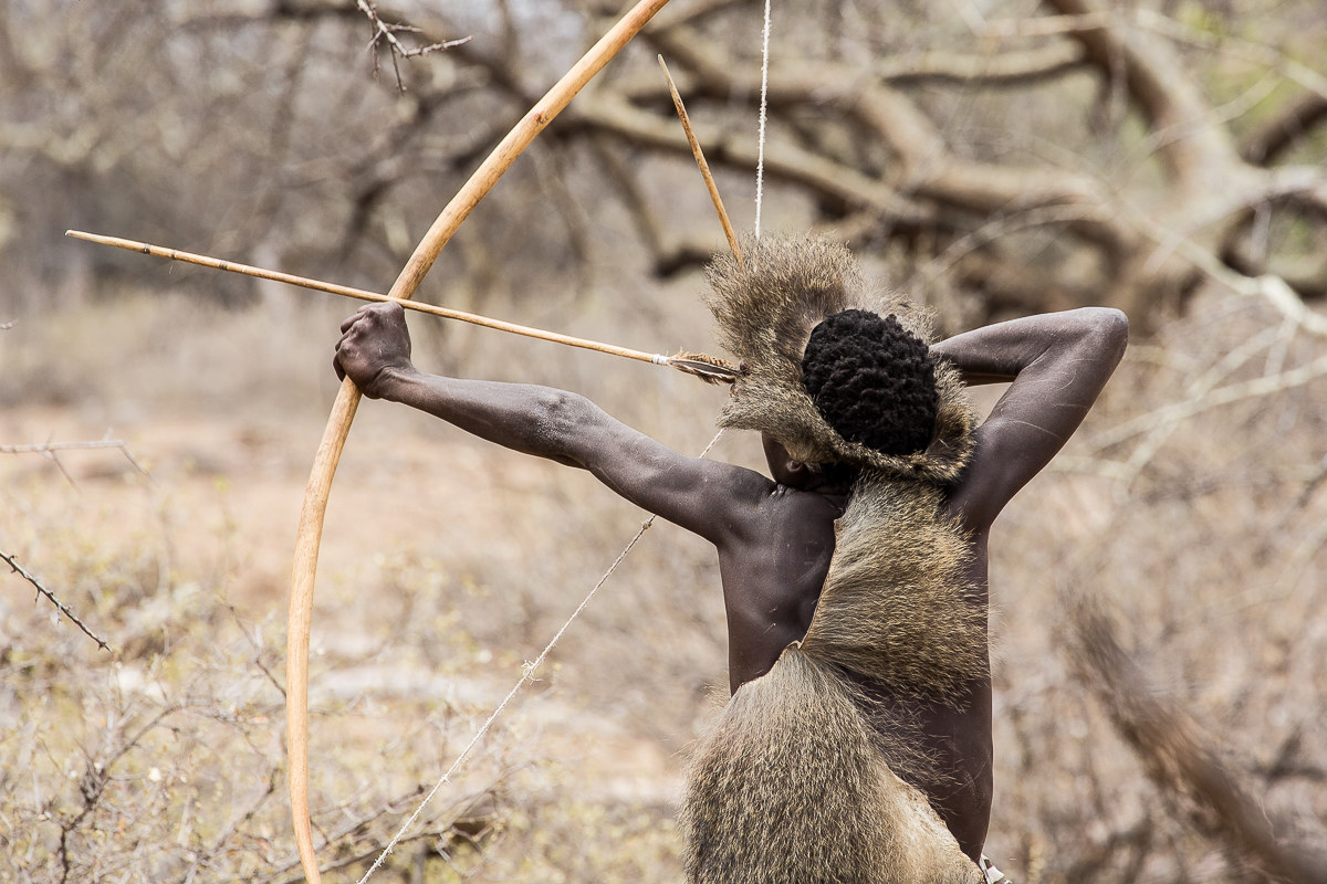 Hadza incredible encounter: Action!...