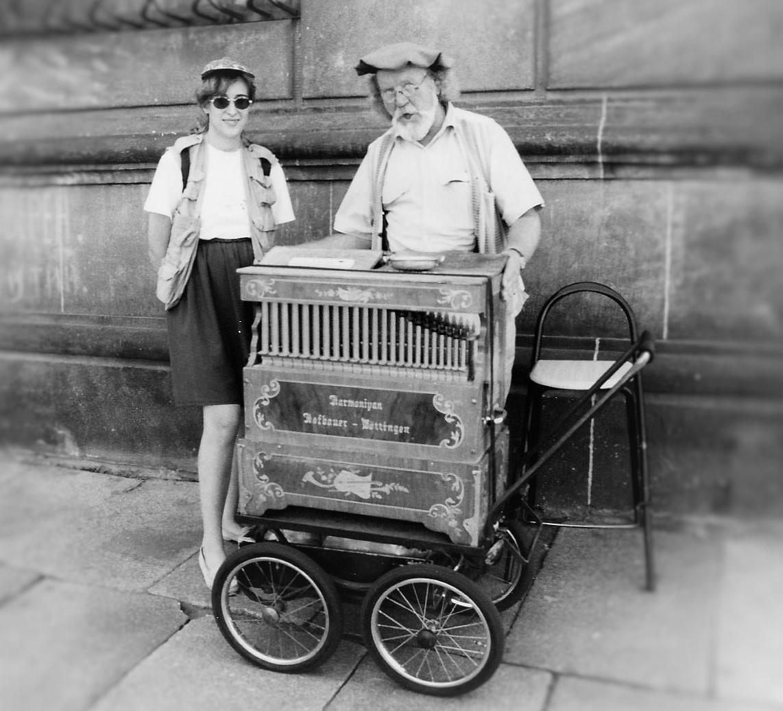 Dresden organ grinder...